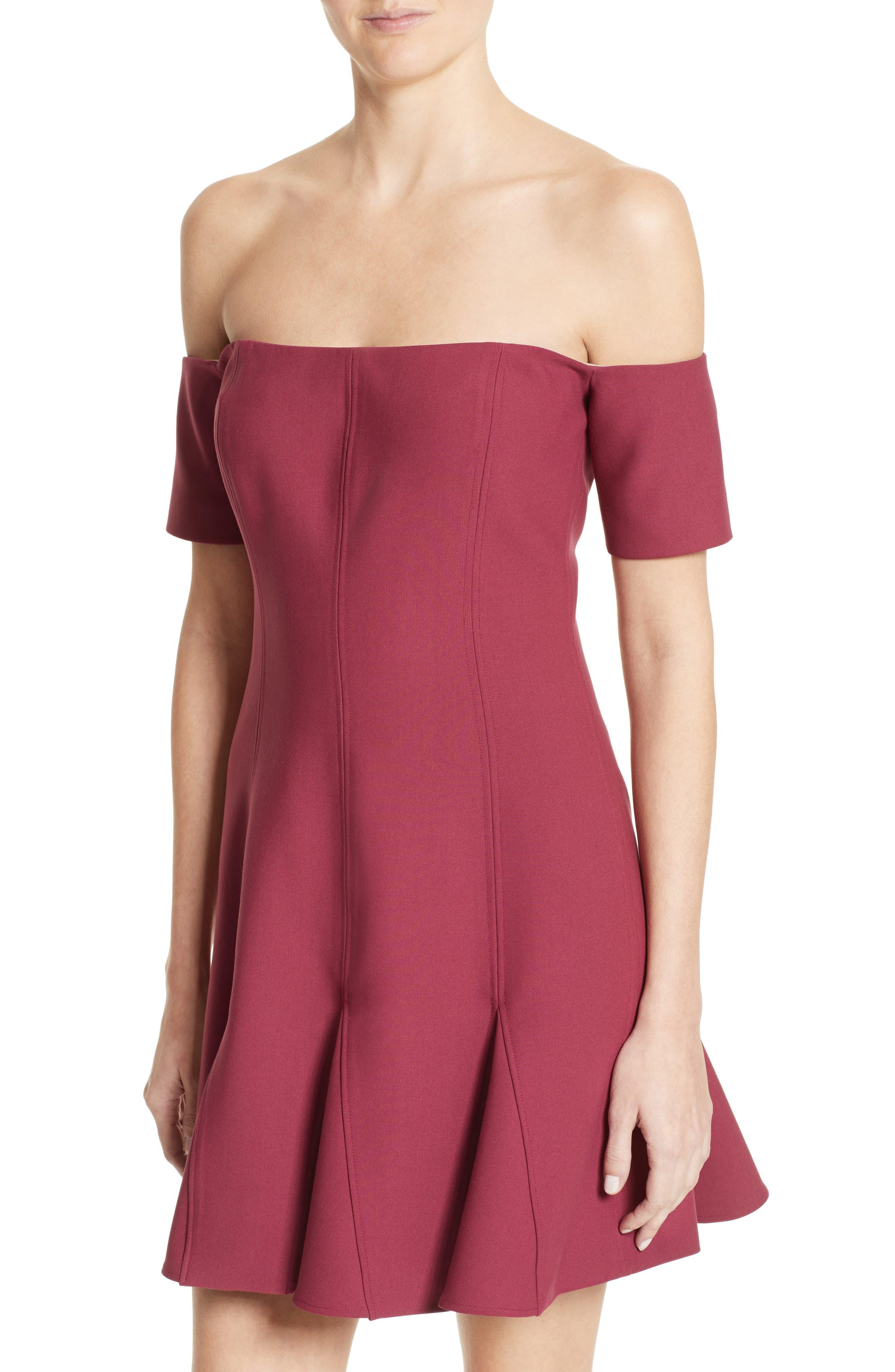 Alternate Image 4  - Cinq à Sept Elva Off the Shoulder Dress