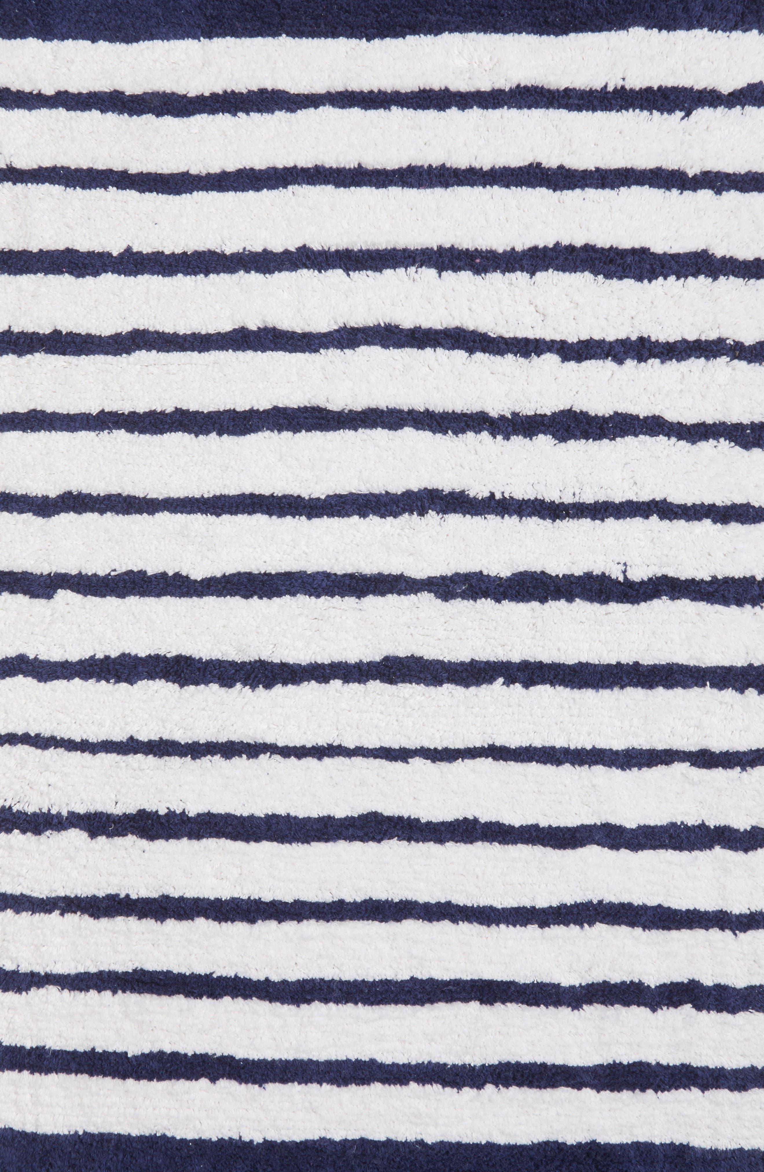 Alternate Image 2  - kate spade new york stripe bath rug
