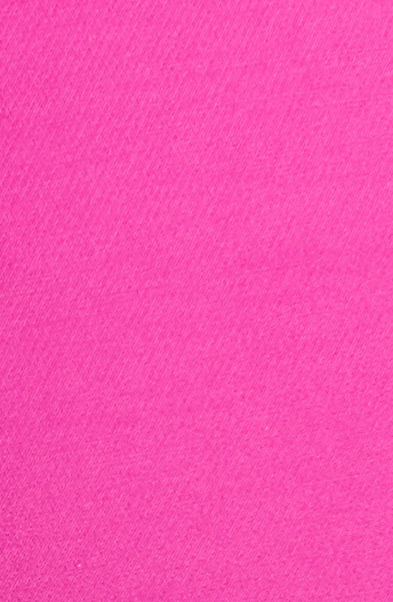 Tech Cotton Blend Slim Pants,                             Alternate thumbnail 3, color,                             Orchid