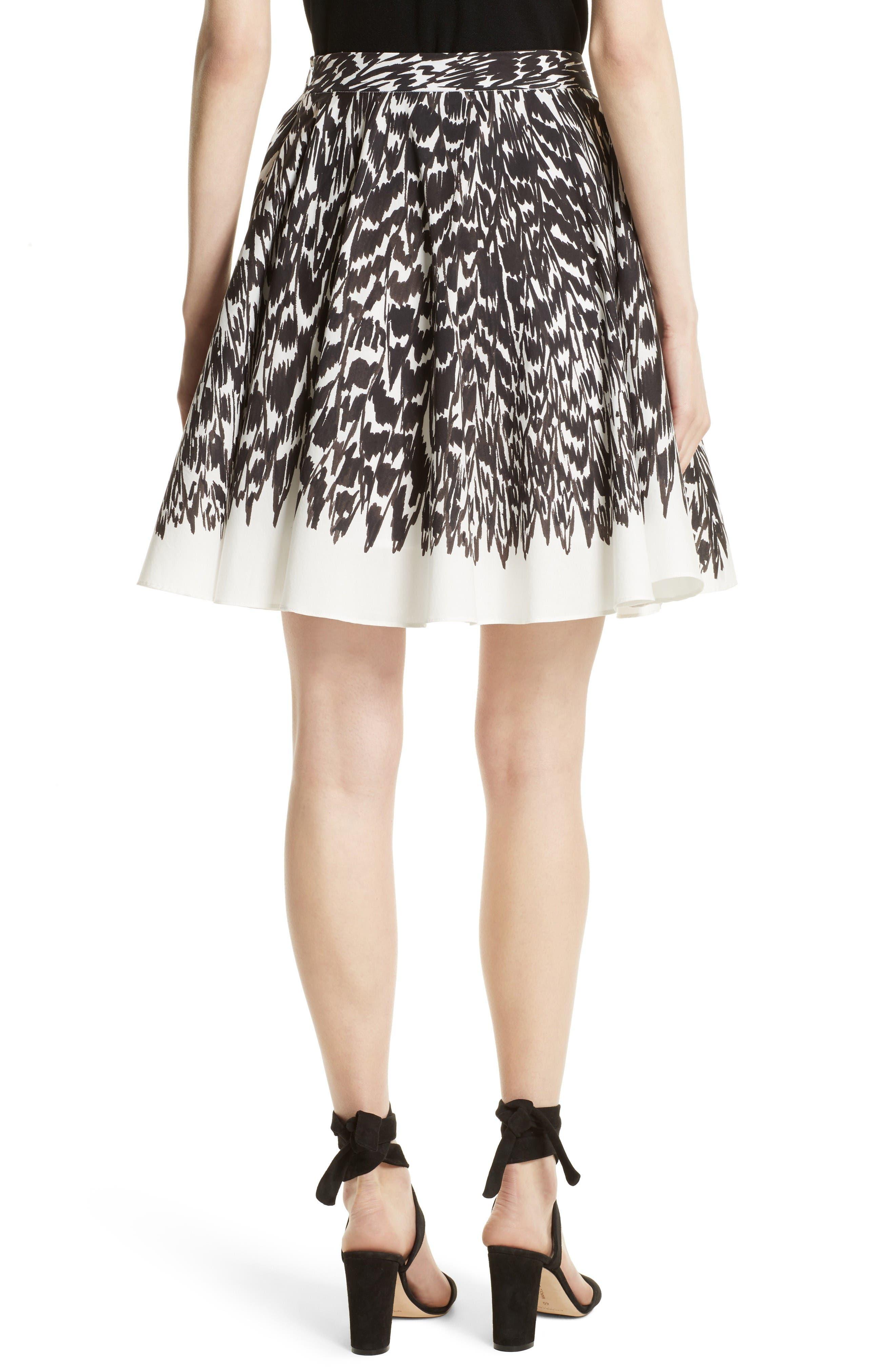 Circle Skirt,                             Alternate thumbnail 3, color,                             Black