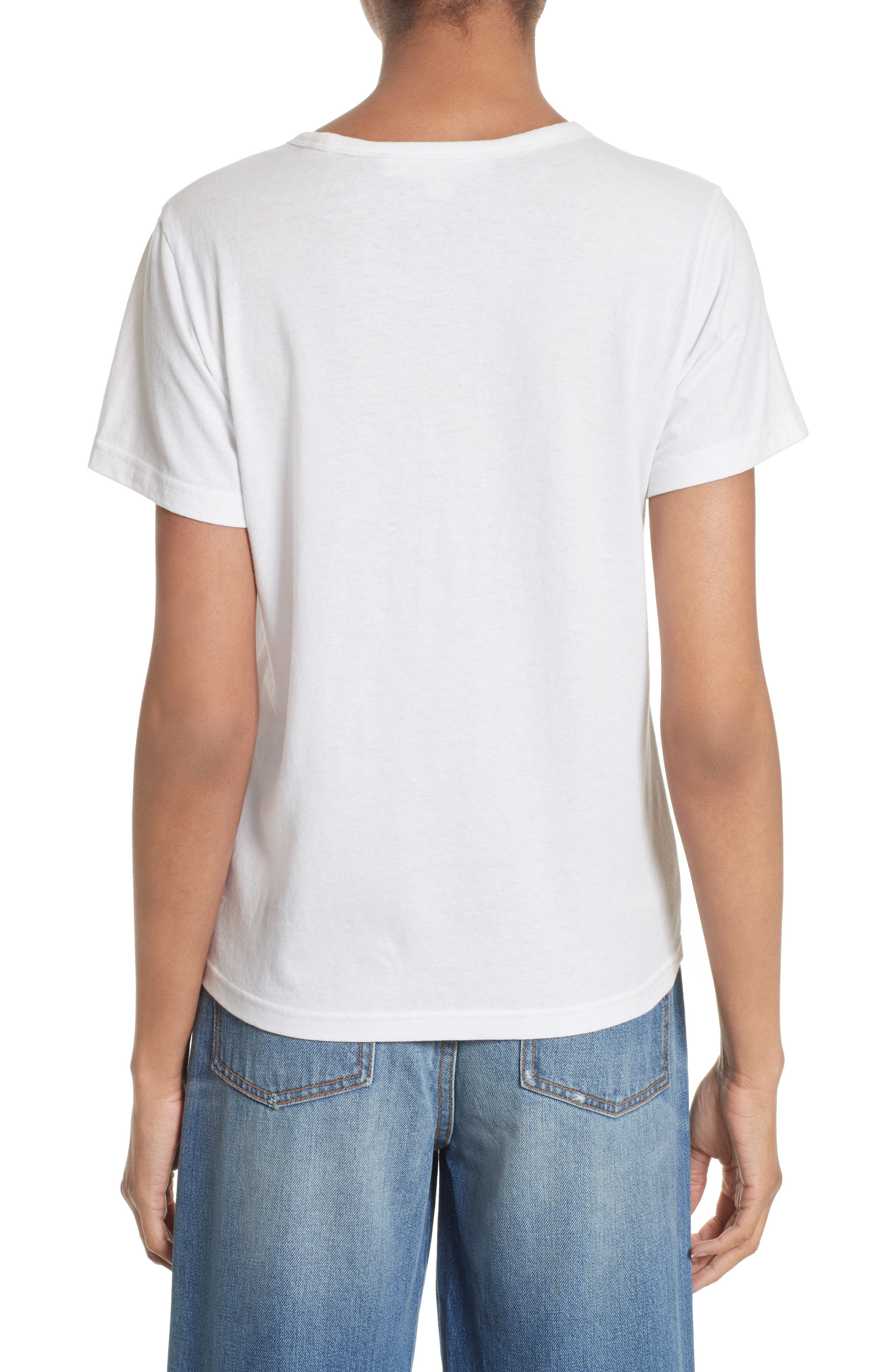 Alternate Image 3  - MARC JACOBS Lacquered Logo Tee