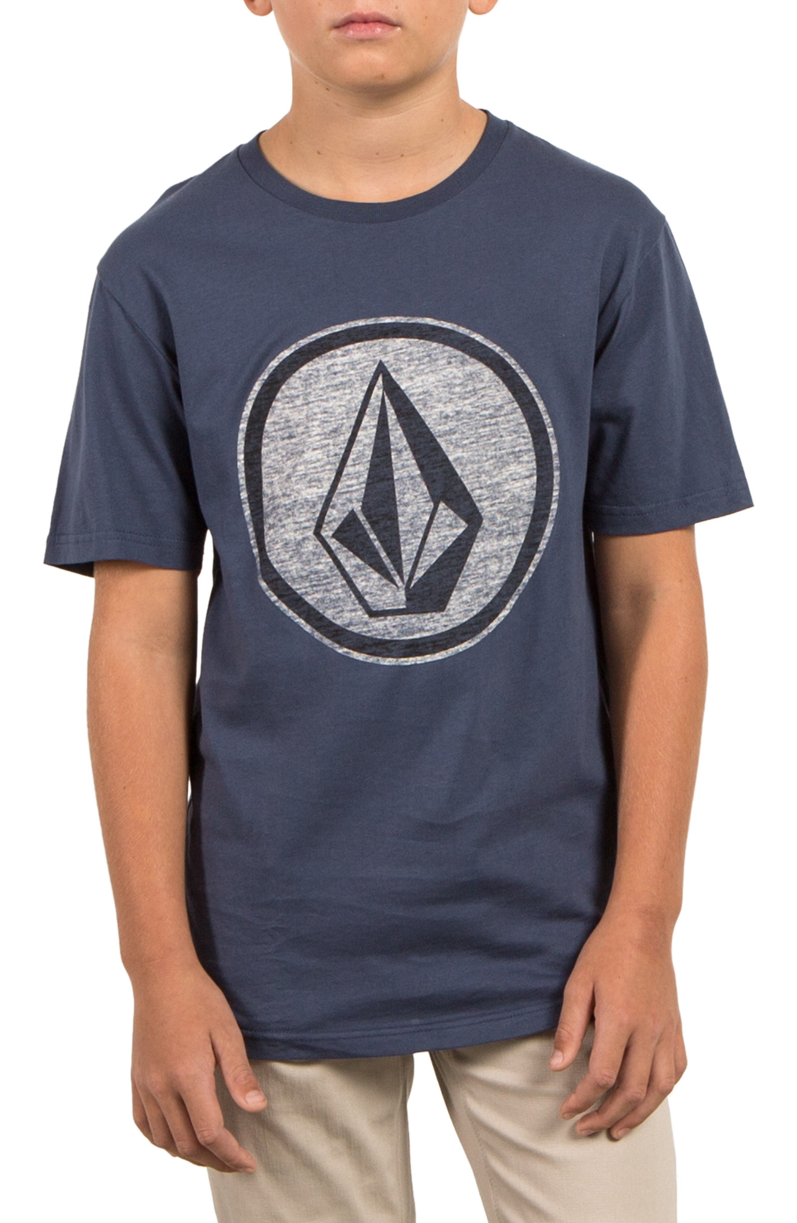 Alternate Image 1 Selected - Volcom Classic Stone T-Shirt (Big Boys)