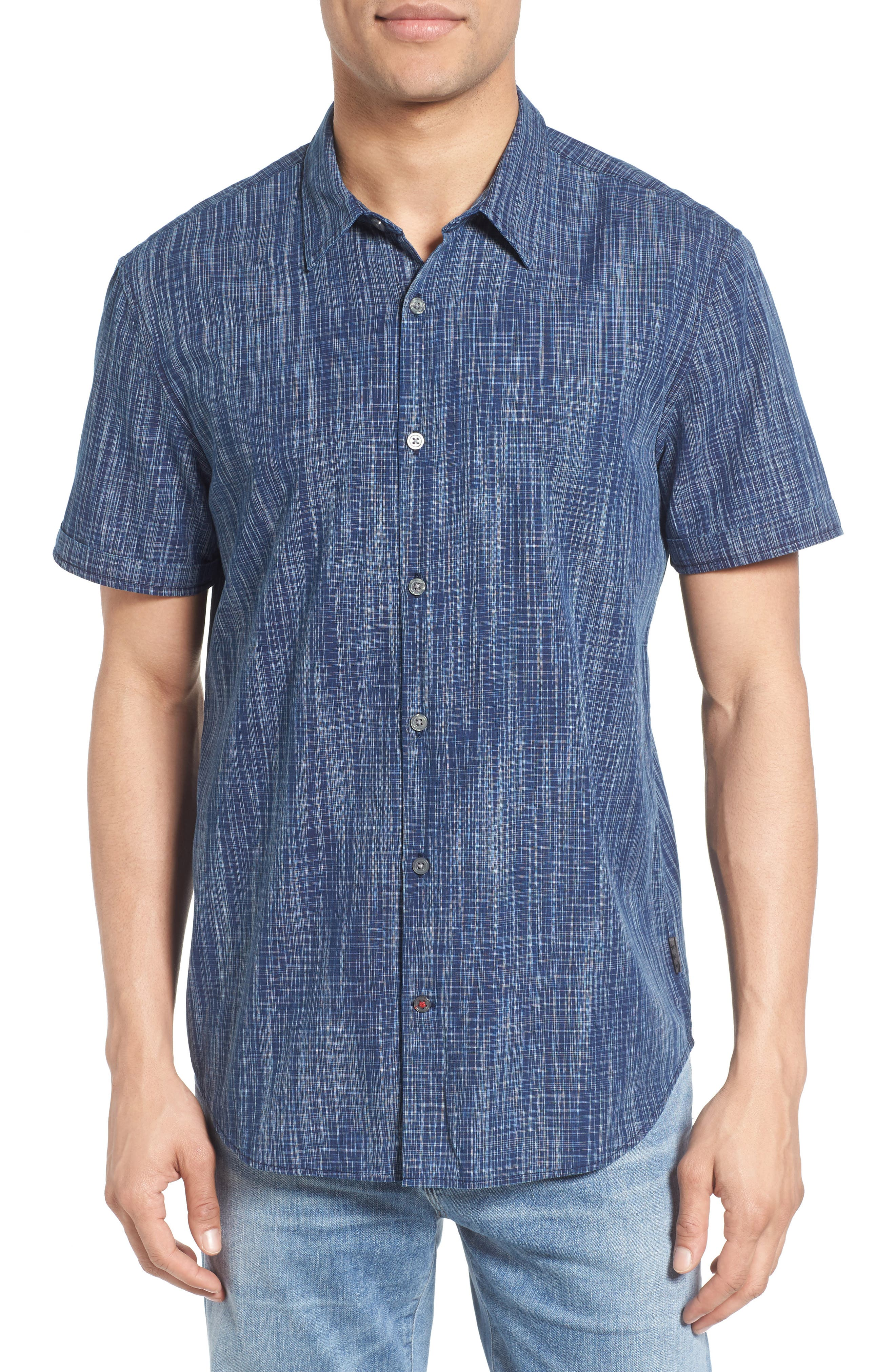 Alternate Image 1 Selected - John Varvatos Star USA Cotton Sport Shirt