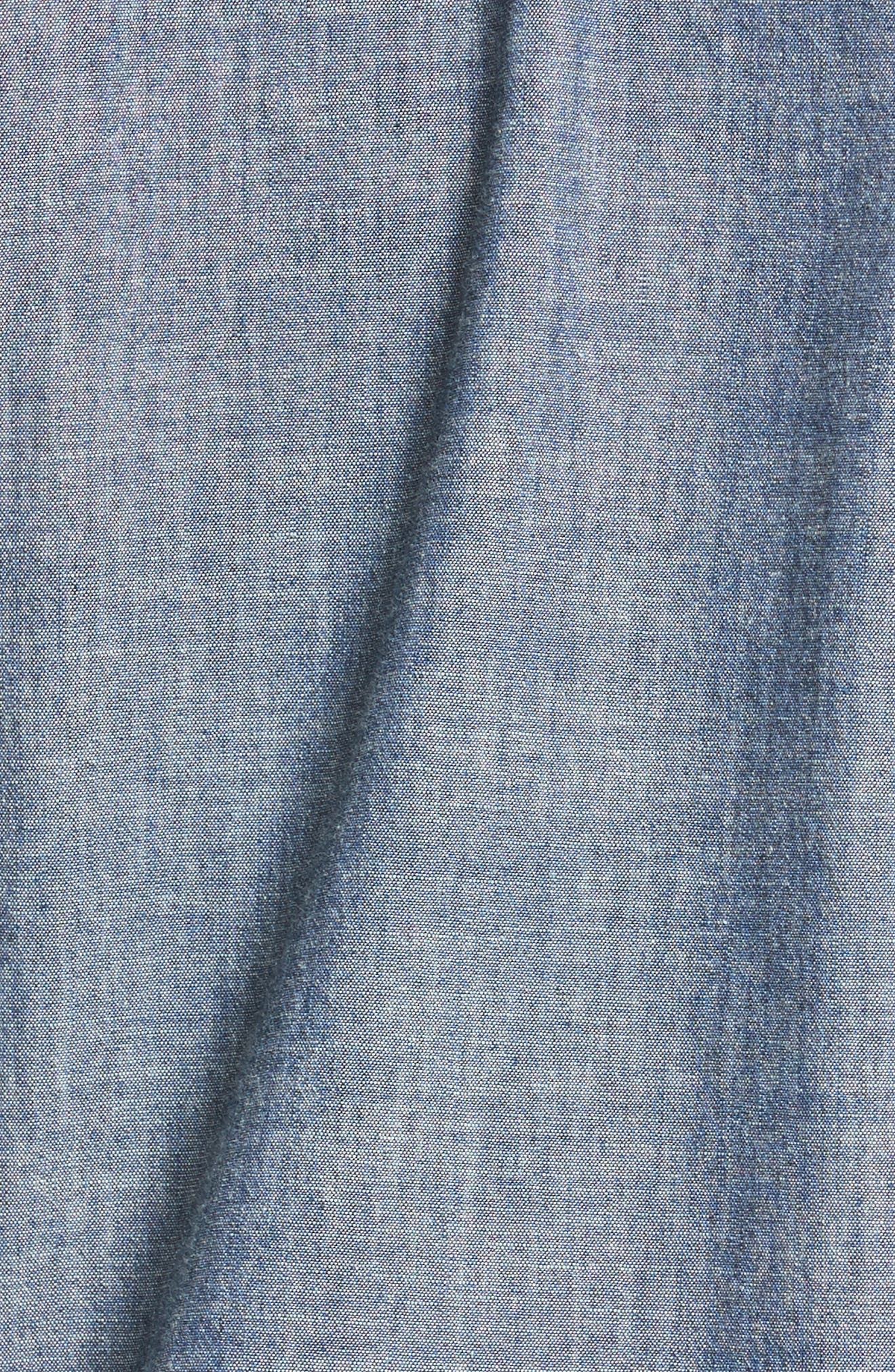 Alternate Image 5  - A.P.C. Hector Denim Shirt