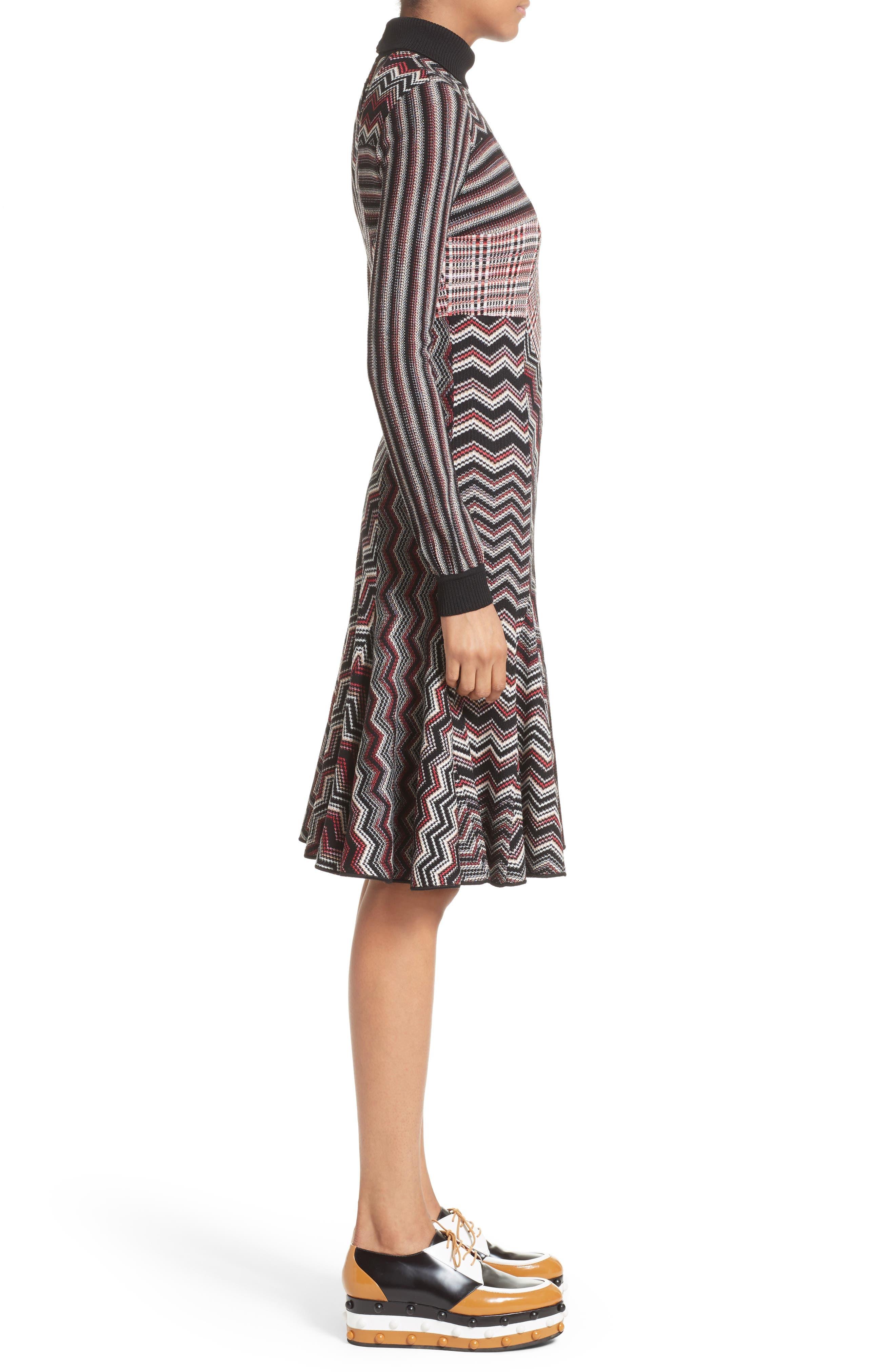 Alternate Image 5  - Missoni Patchwork Wool Blend Knit Dress