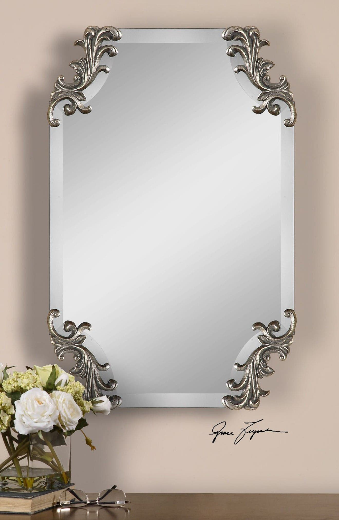 Alternate Image 2  - Uttermost Andretta Baroque Wall Mirror