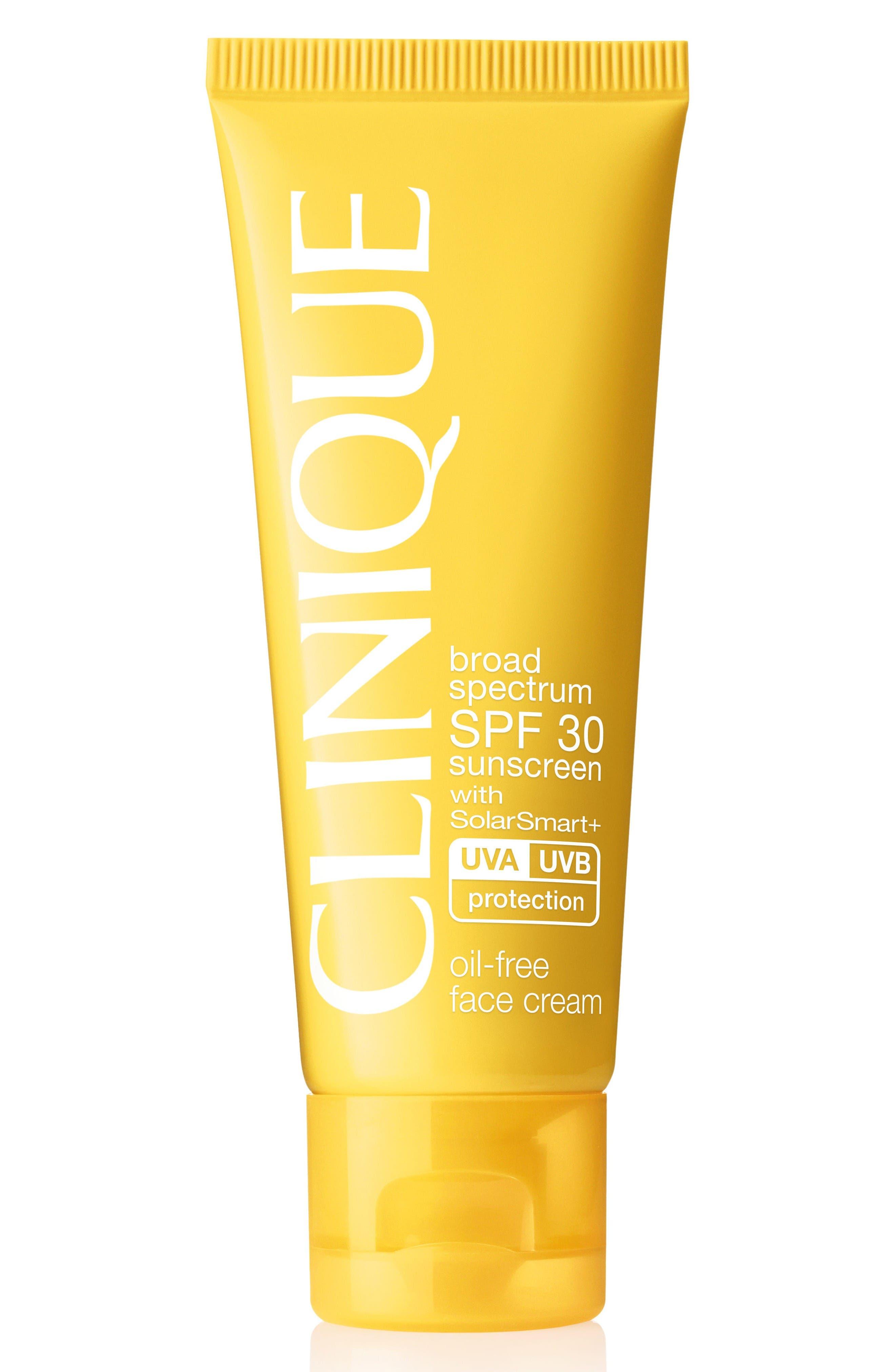 Clinique Broad Spectrum SPF Sunscreen 30 Oil-Free Face Cream