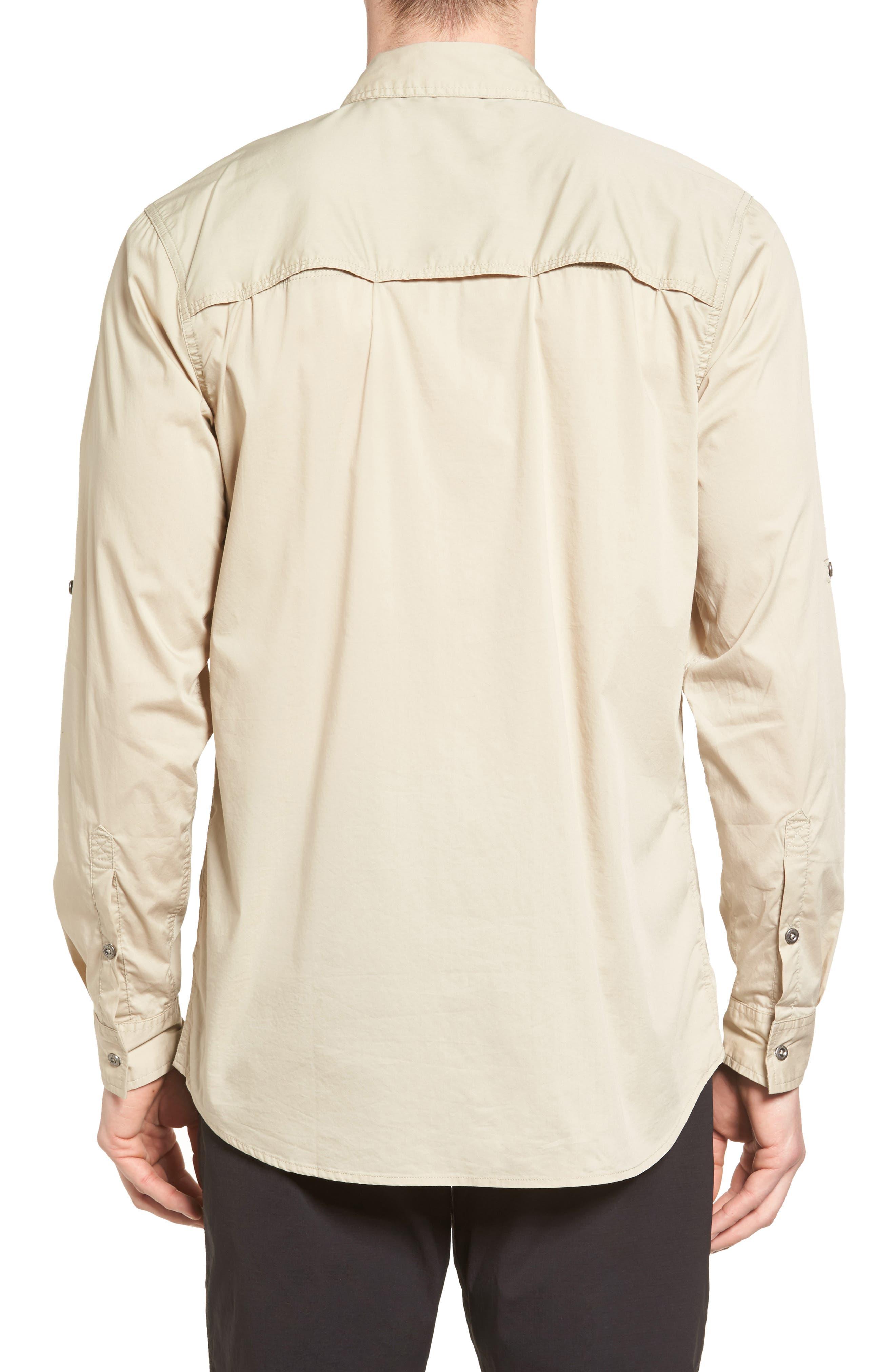 NO-Squito Regular Fit Travel Shirt,                             Alternate thumbnail 2, color,                             True Khaki