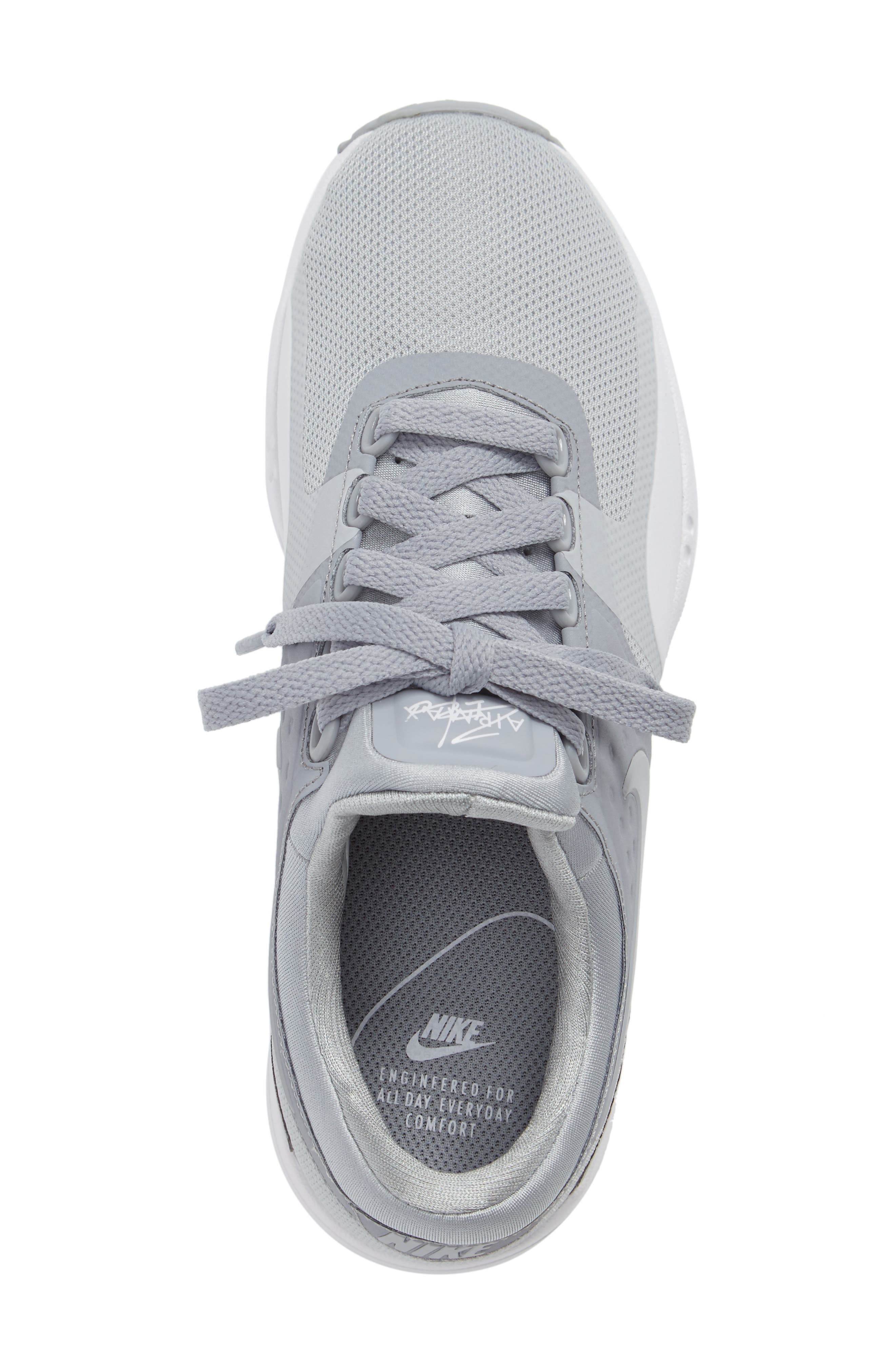 Air Max Zero Sneaker,                             Alternate thumbnail 5, color,                             Wolf Grey/ Wolf Grey/ White