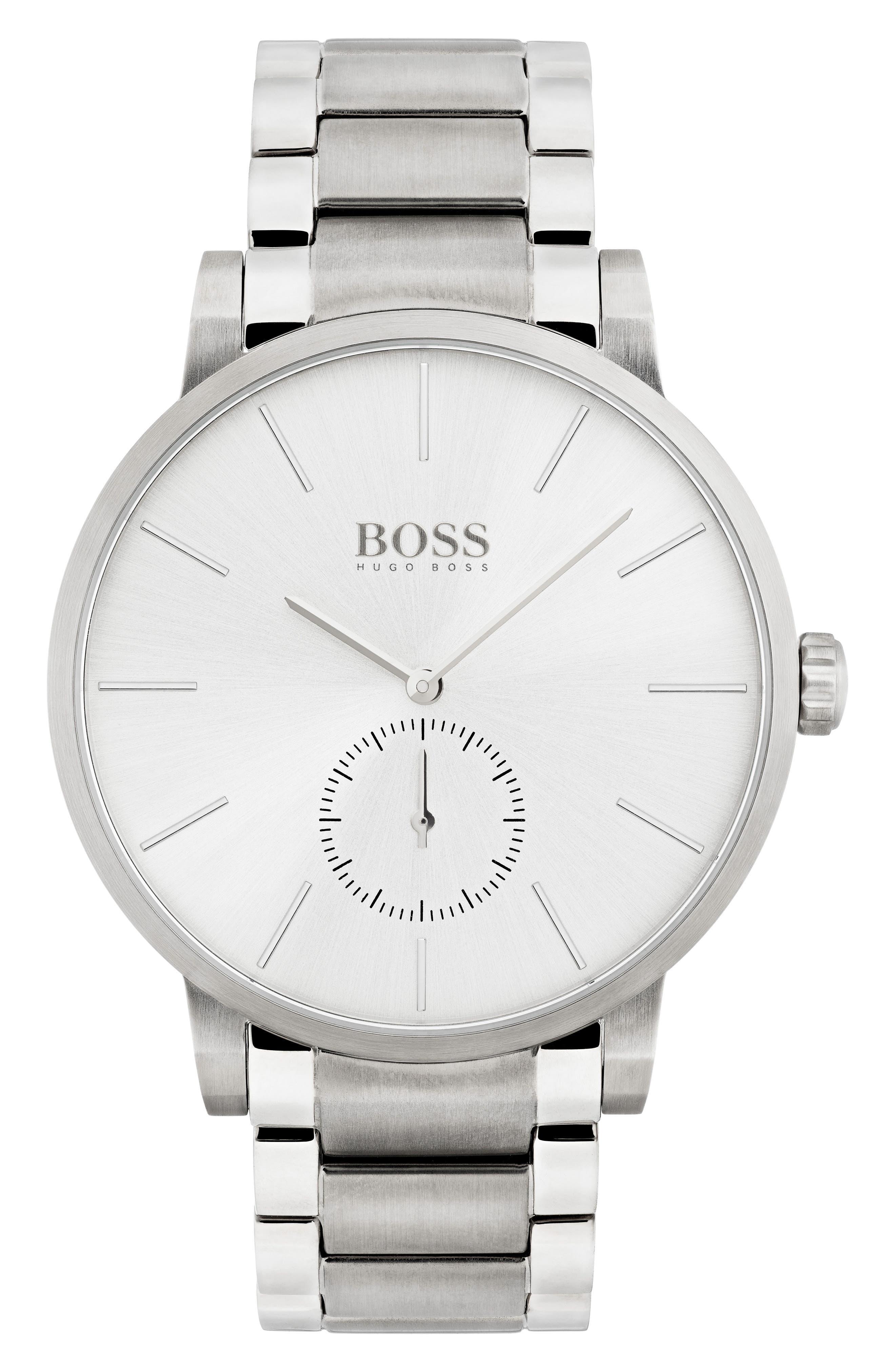 Main Image - BOSS Essence Bracelet Watch, 42mm
