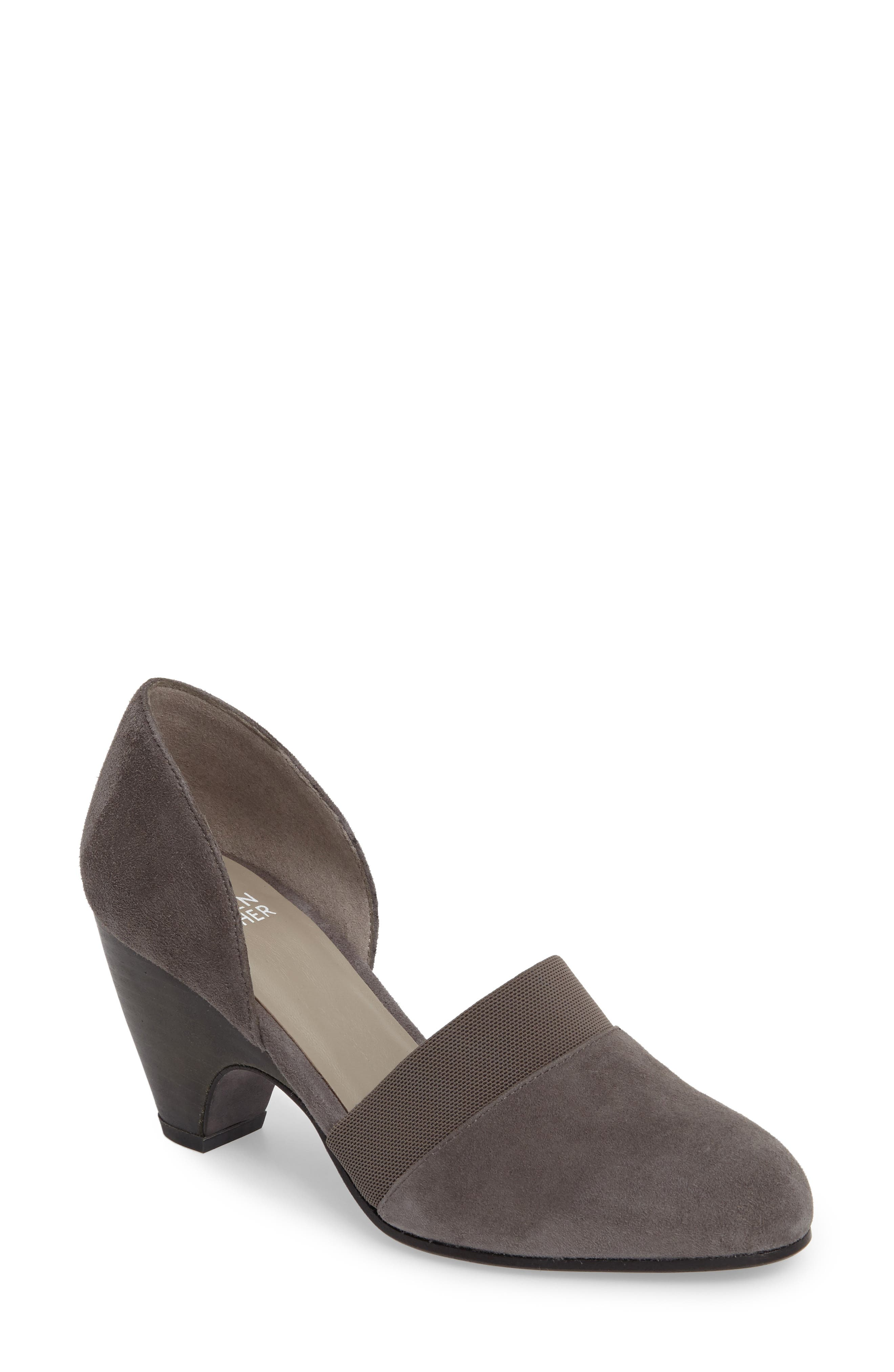 Alternate Image 1 Selected - Eileen Fisher Bailey d'Orsay Pump (Women)