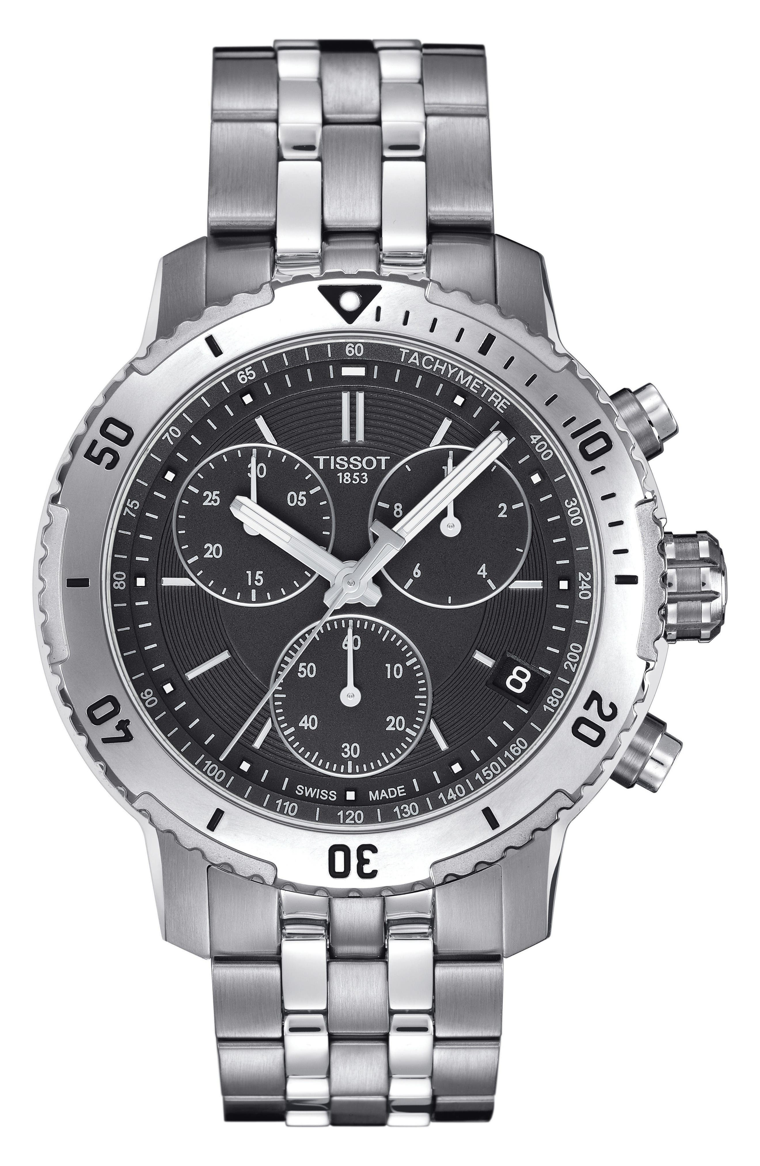 Tissot PRS200 Chronograph Bracelet Watch, 41mm
