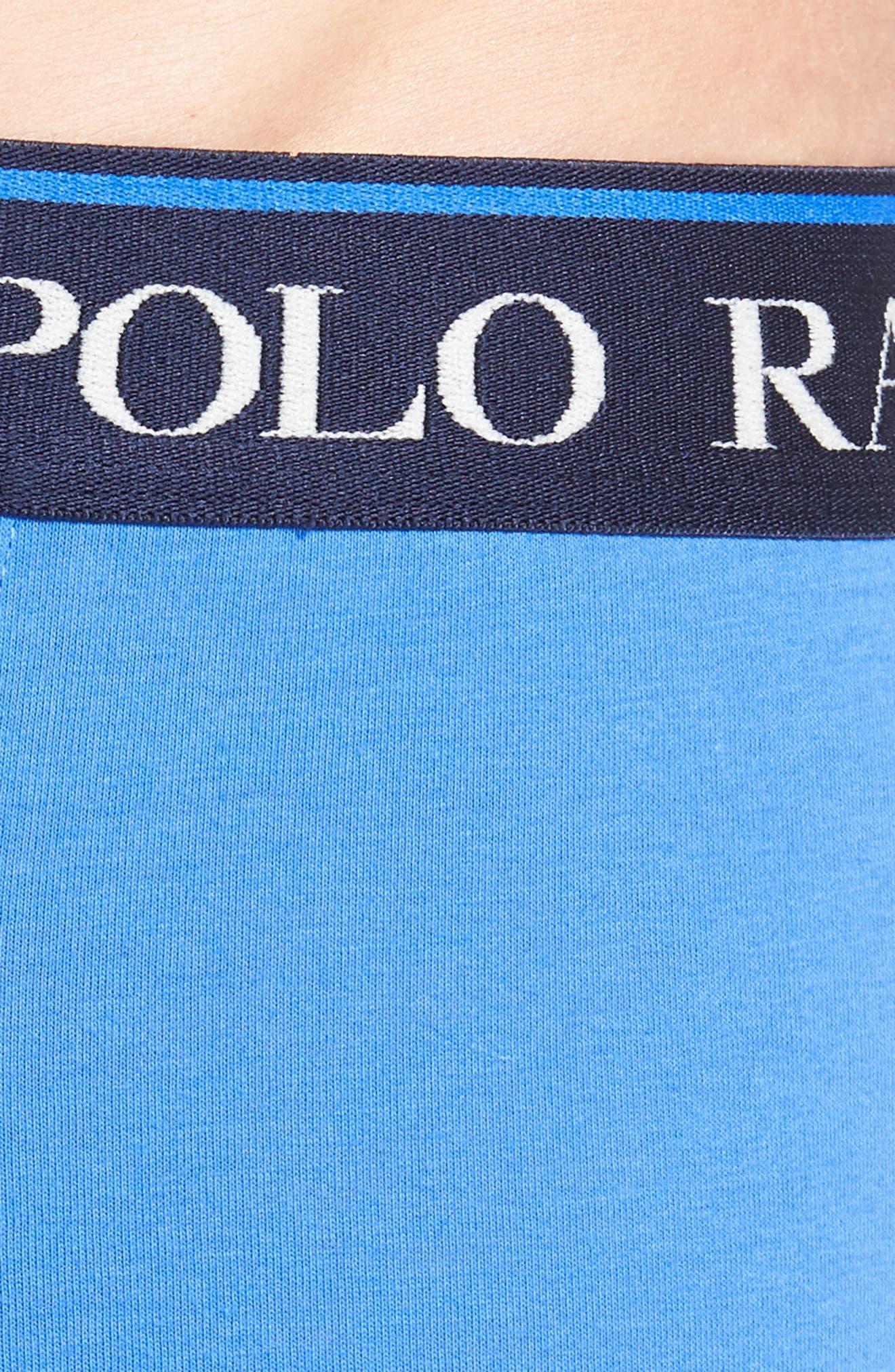 Alternate Image 5  - Polo Ralph Lauren 3-Pack Stretch Cotton Boxer Briefs