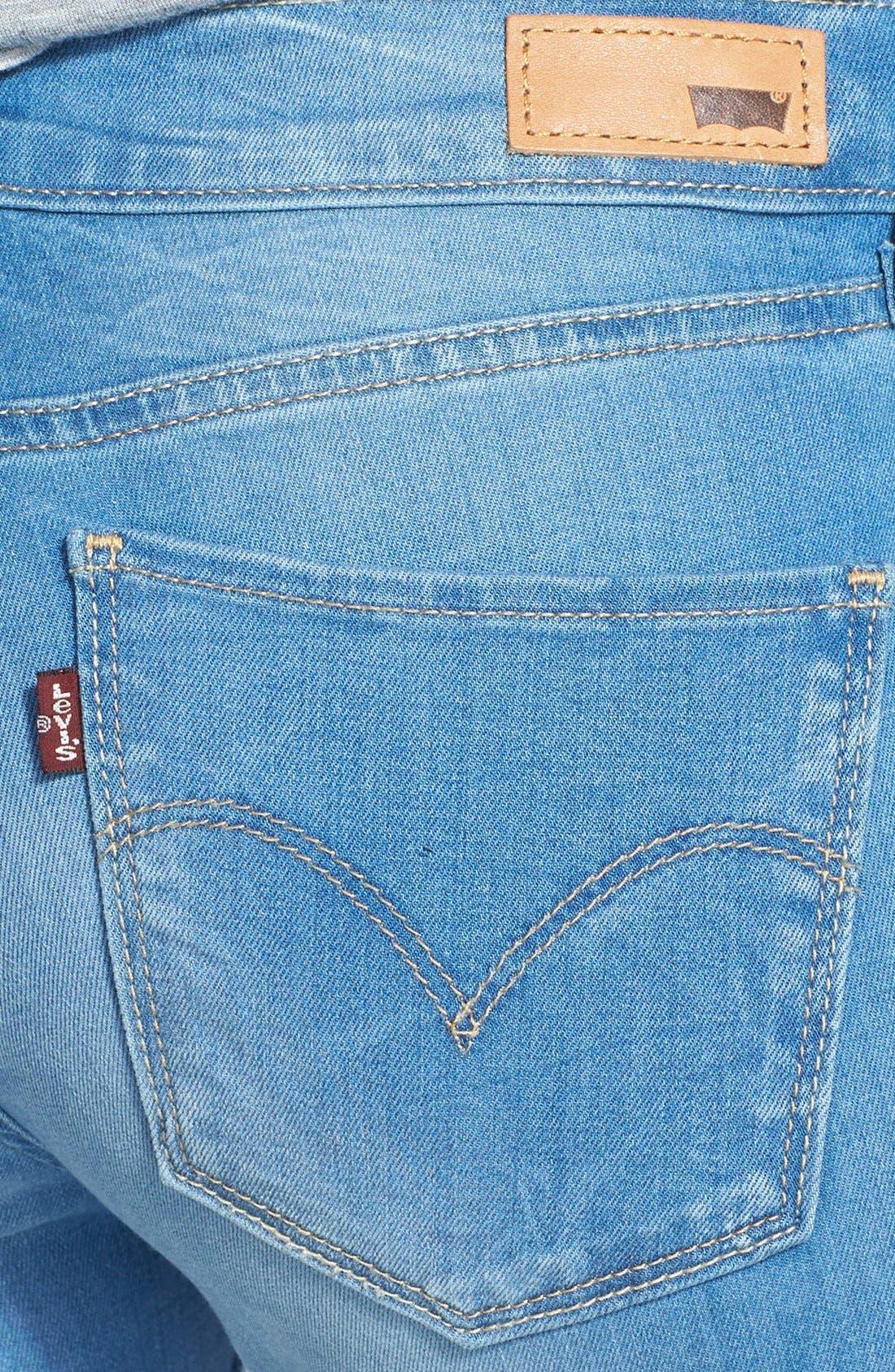 Alternate Image 3  - Levi's® Super Skinny Jeans (Indigo)