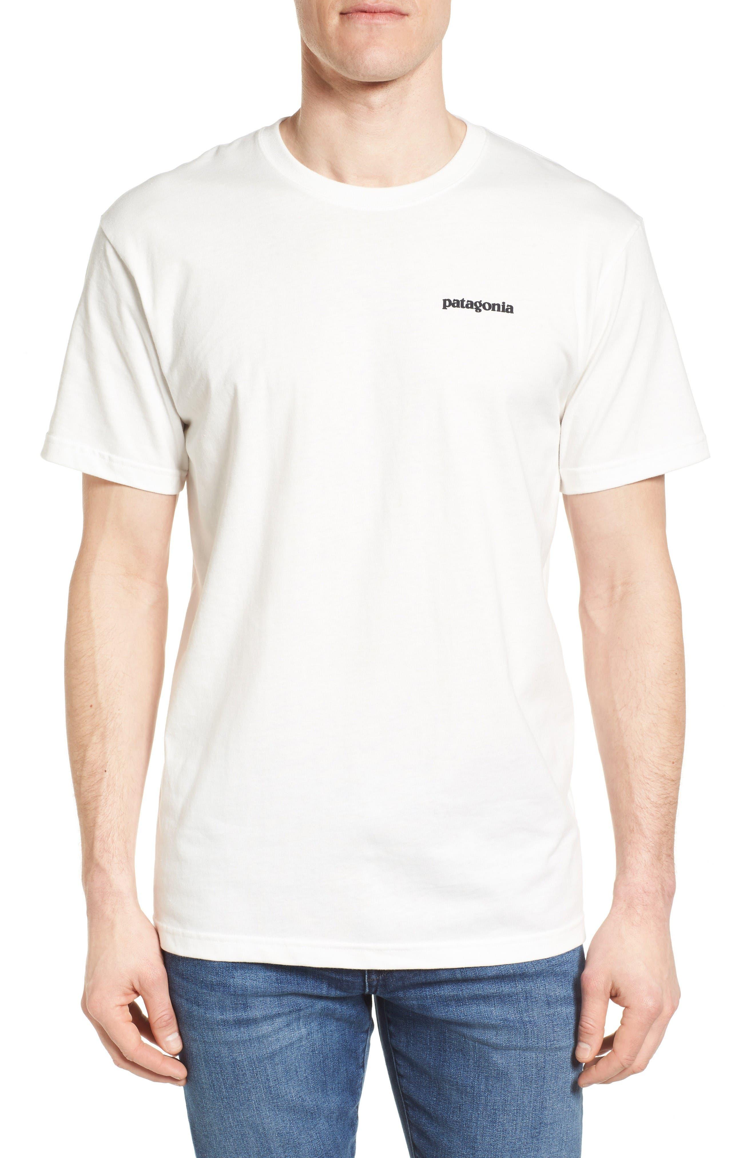 Fitz Roy Tarpon Regular Fit T-Shirt,                             Main thumbnail 1, color,                             White