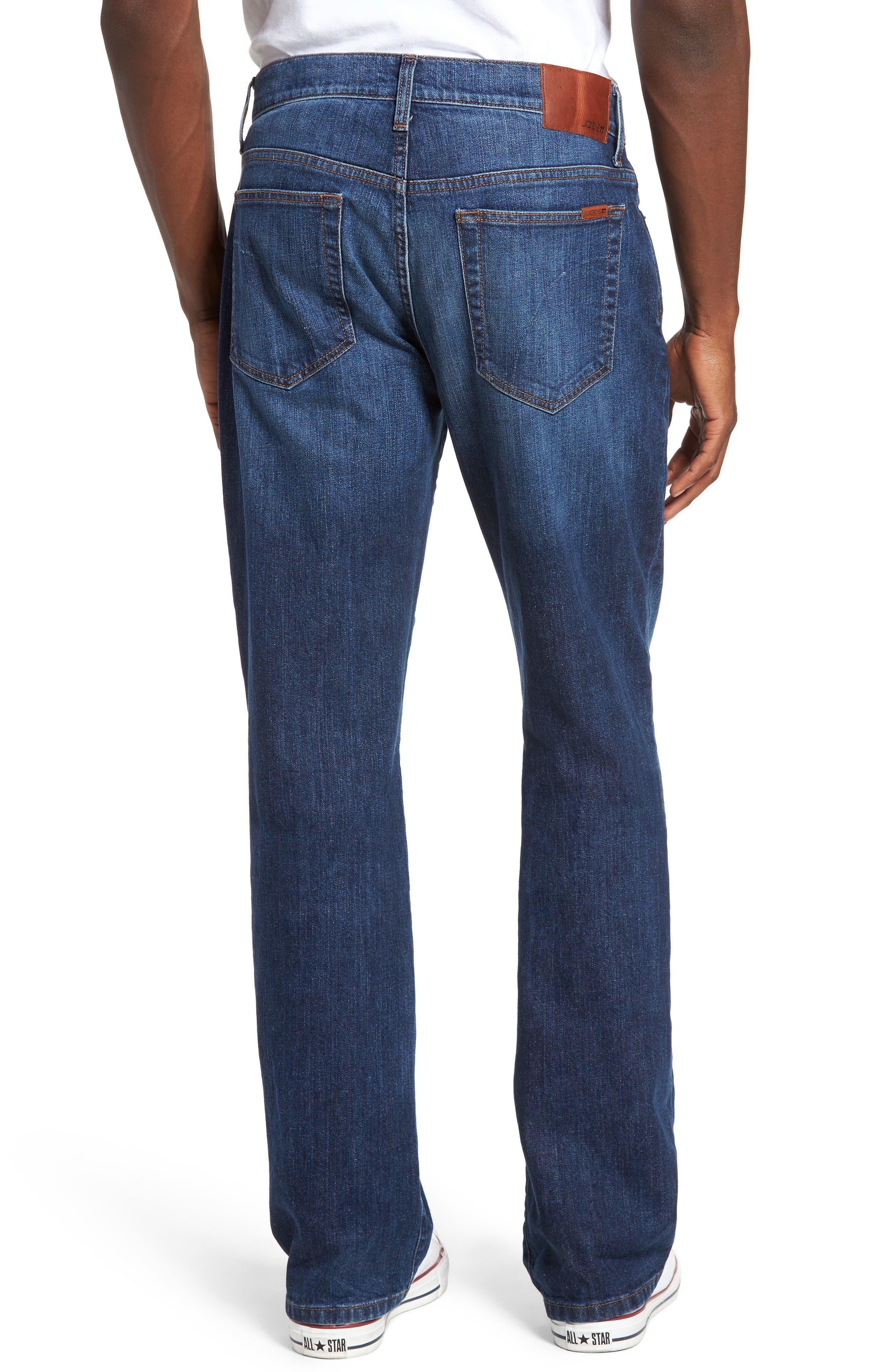 Classic Straight Fit Jeans,                             Alternate thumbnail 2, color,                             Drexler