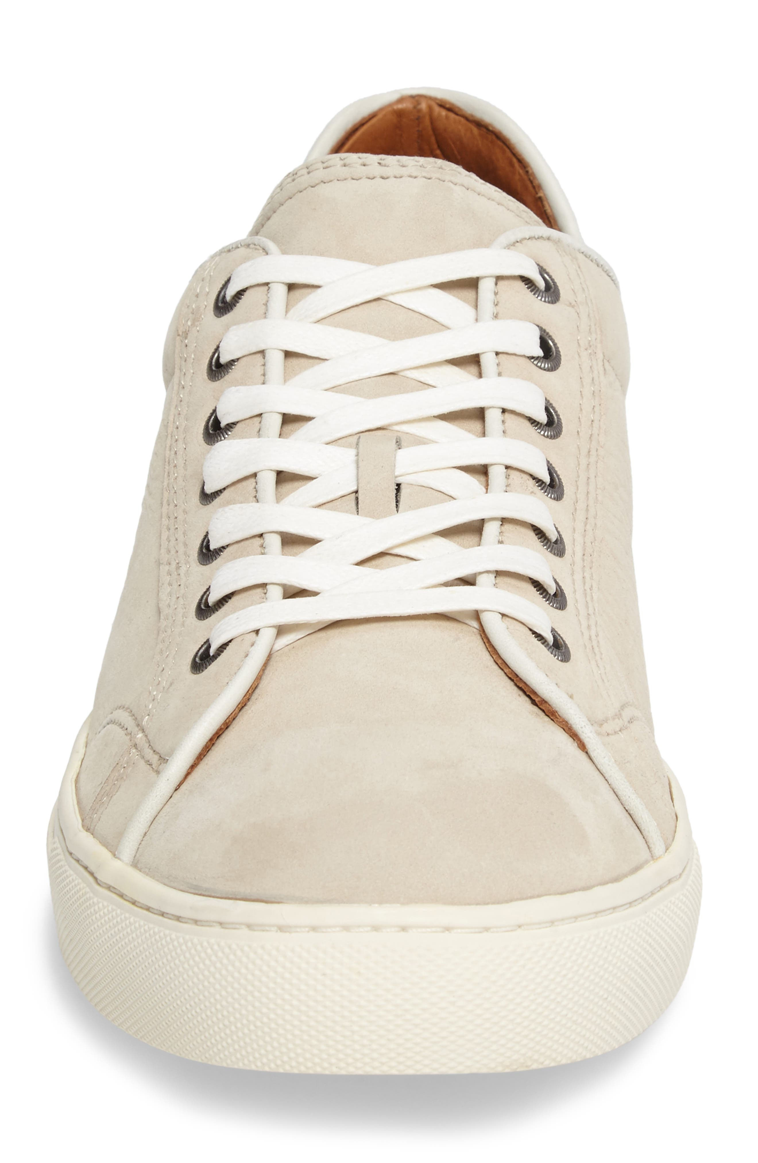 Walker Low Top Sneaker,                             Alternate thumbnail 4, color,                             Ivory