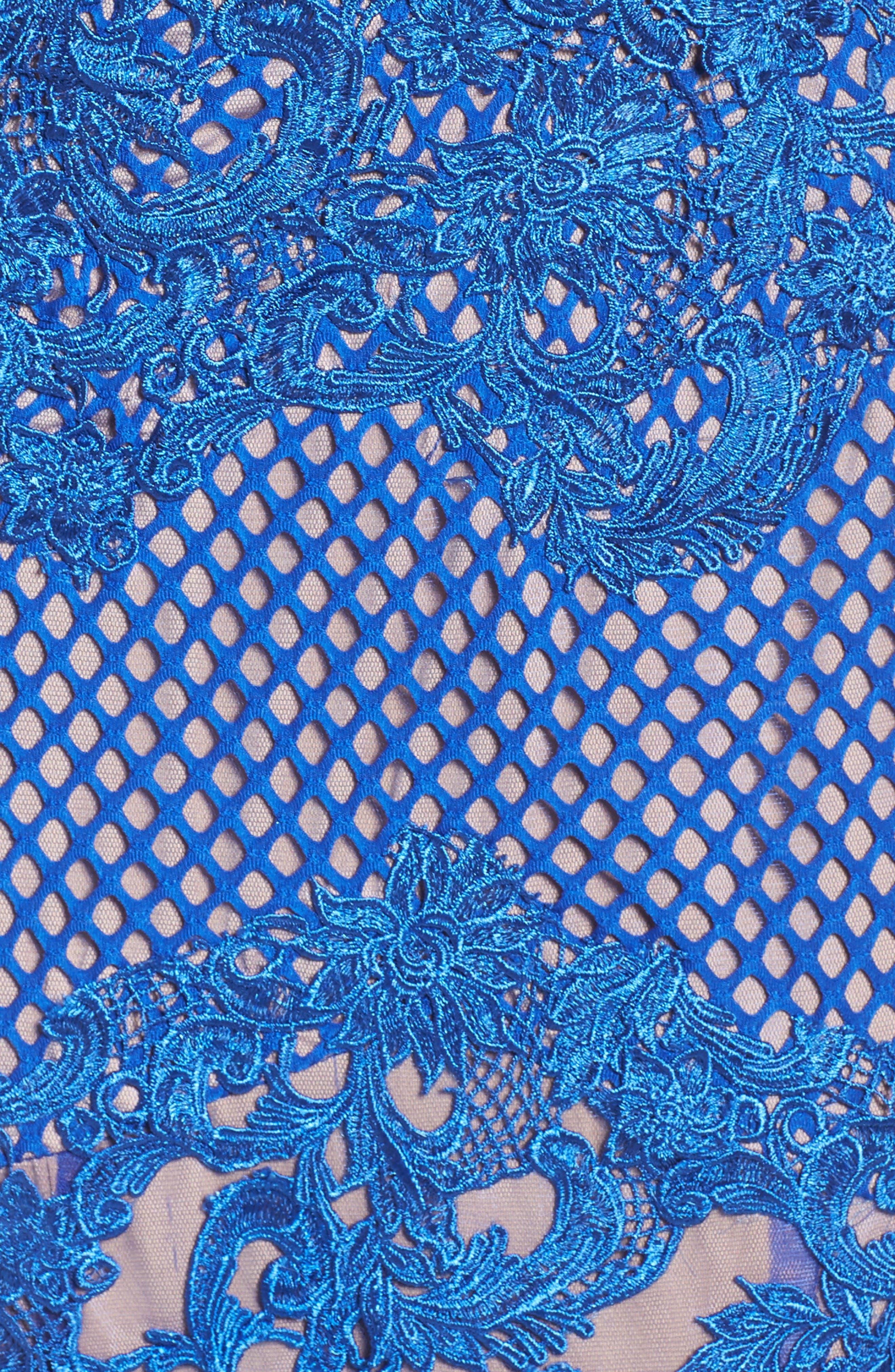 Alternate Image 5  - Mac Duggal Illusion Mermaid Gown