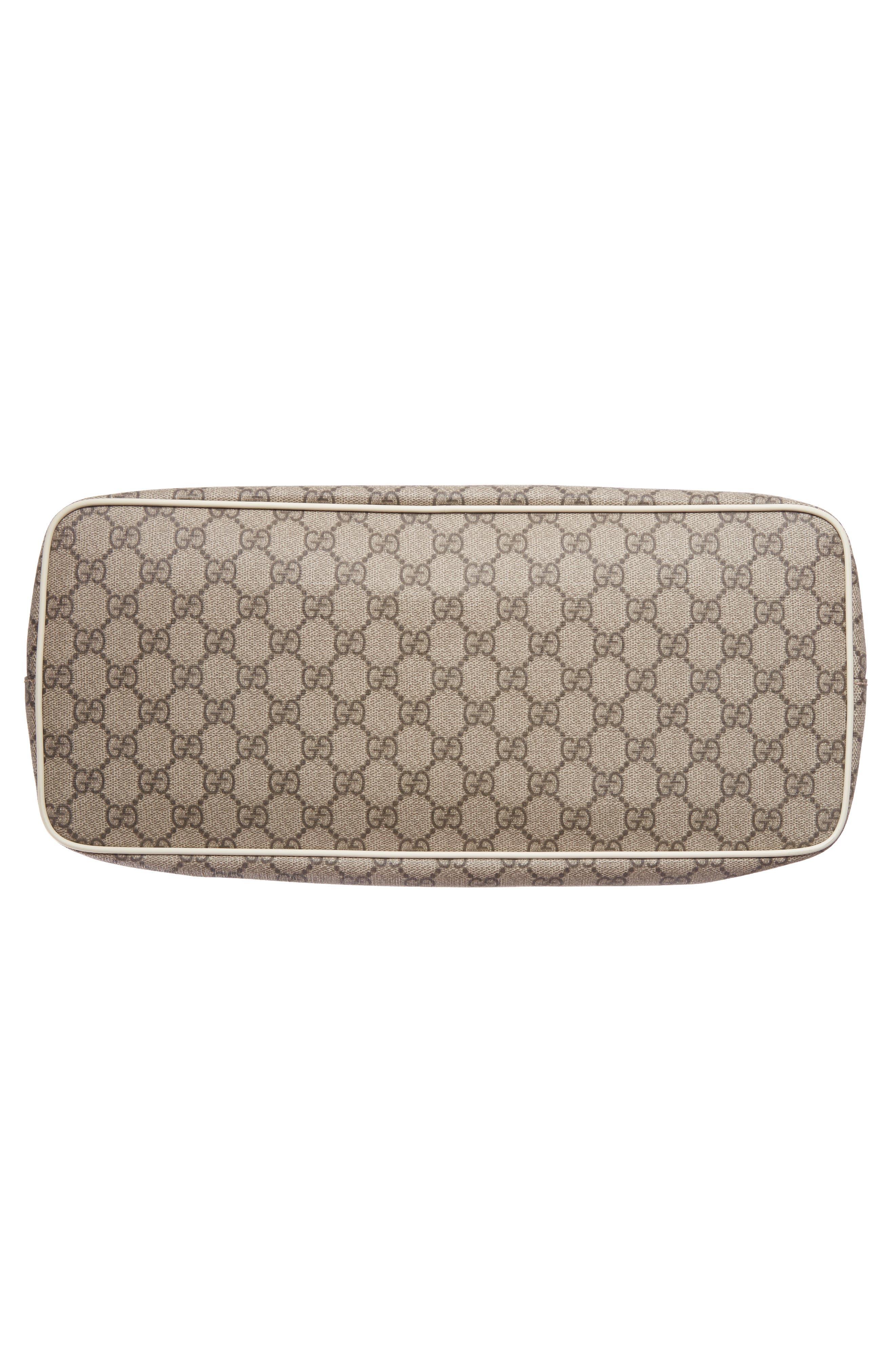 Alternate Image 6  - Gucci Logo Print Diaper Bag