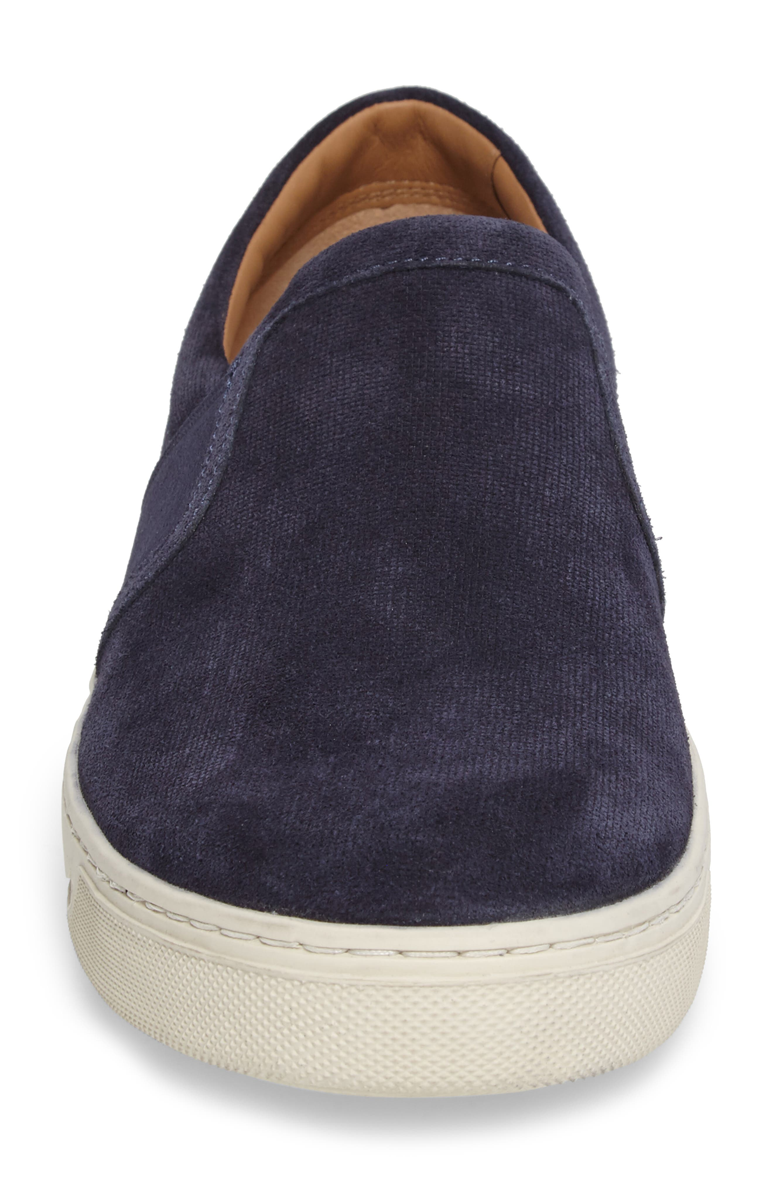 Adler Slip-On,                             Alternate thumbnail 4, color,                             Coastal Suede