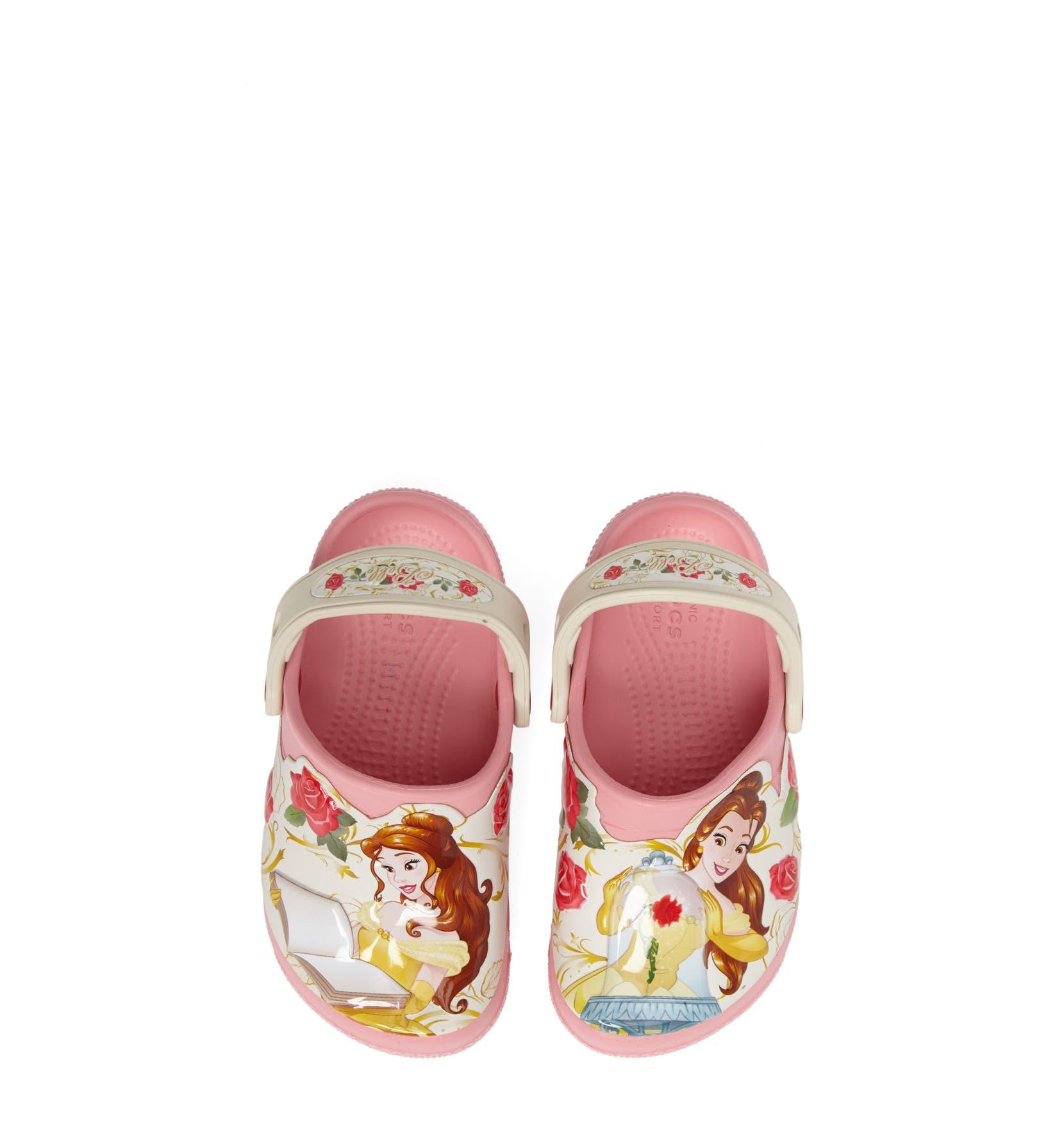 CROCS™ Fun Lab Disney® Princess Belle Slip-On (Baby, Walker, Toddler ...