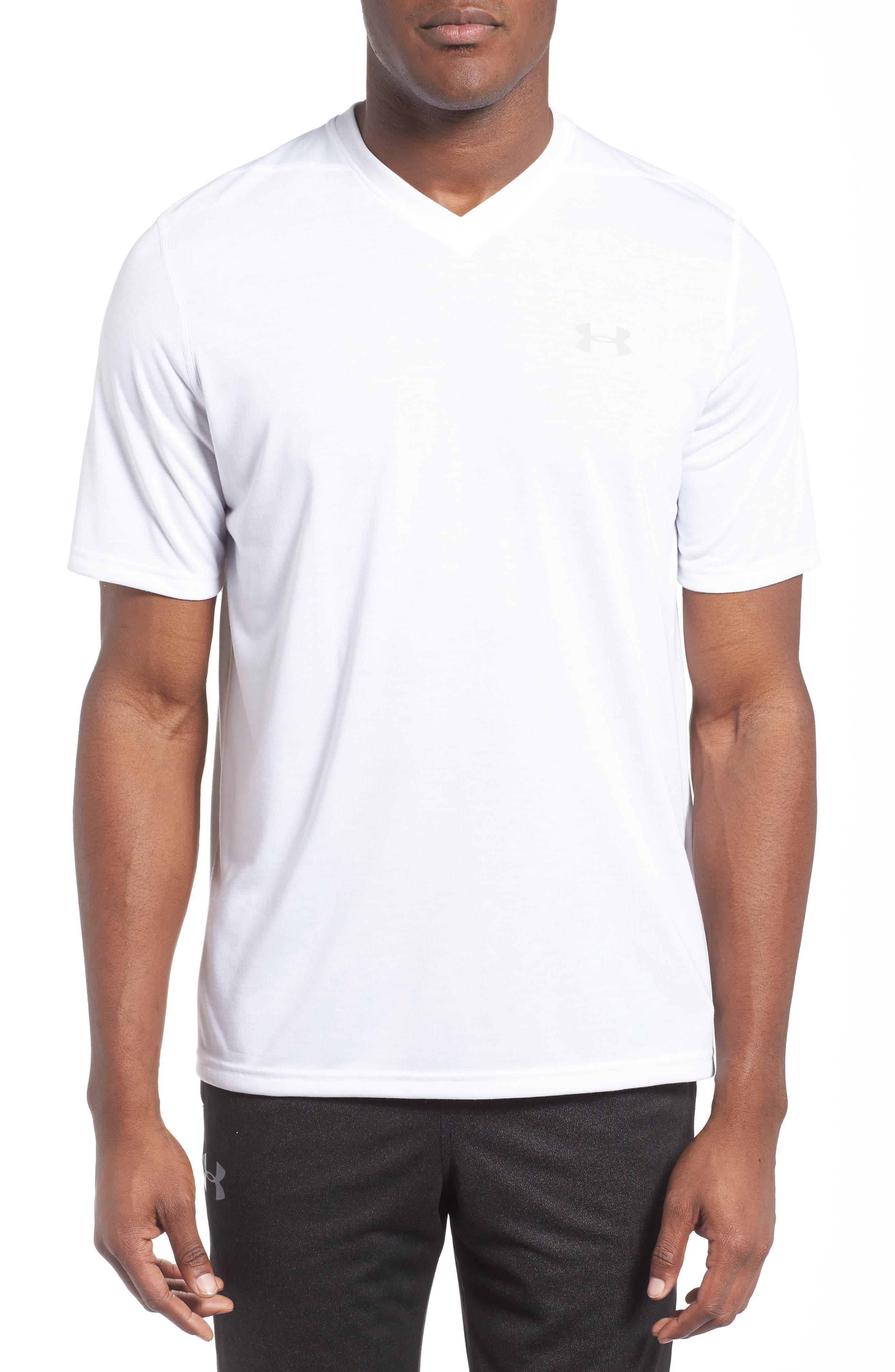 Regular Fit Threadborne T-Shirt,                         Main,                         color, White
