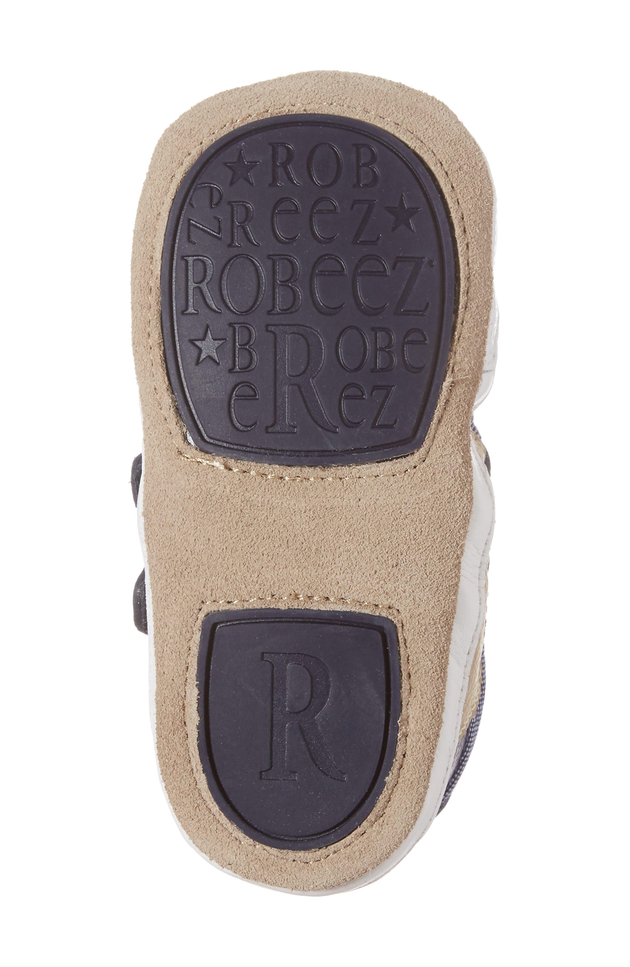 Alternate Image 6  - Robeez® Jaime Crib Shoe (Baby & Walker)