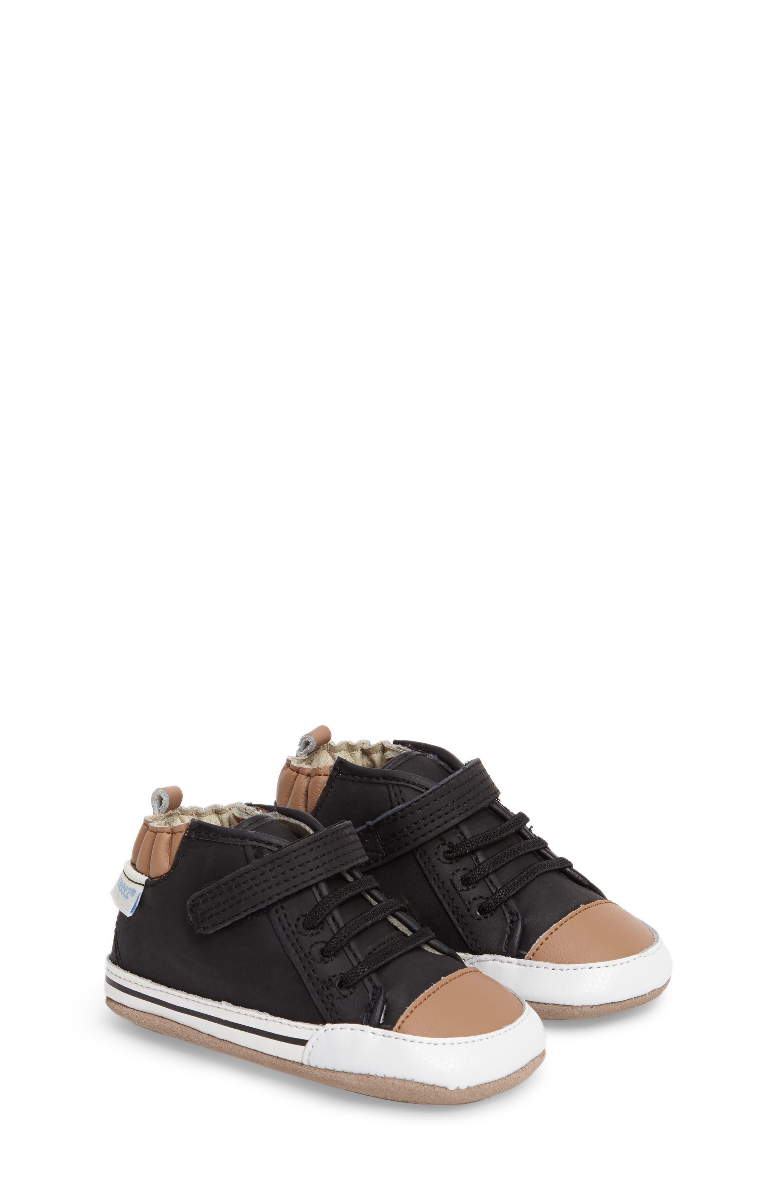 Robeez® Brandon Crib Shoe (Baby & Walker)