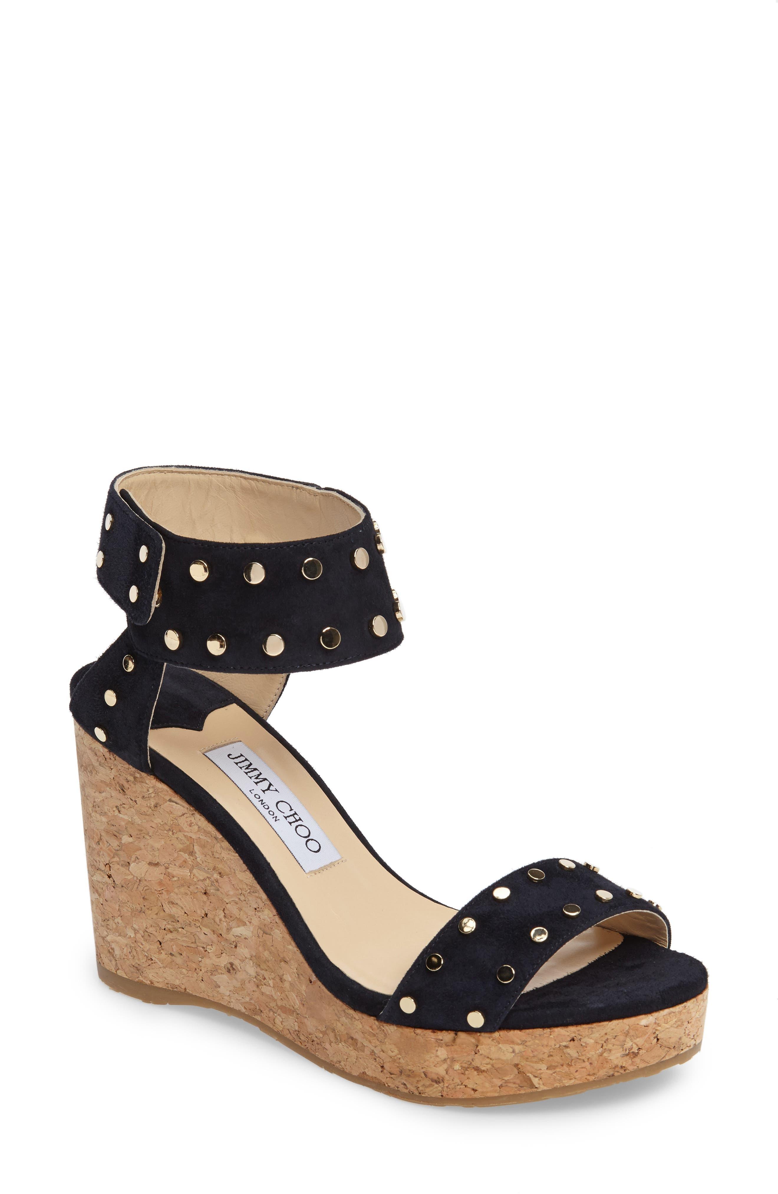 Jimmy Choo Veto Wedge Sandal (Women)
