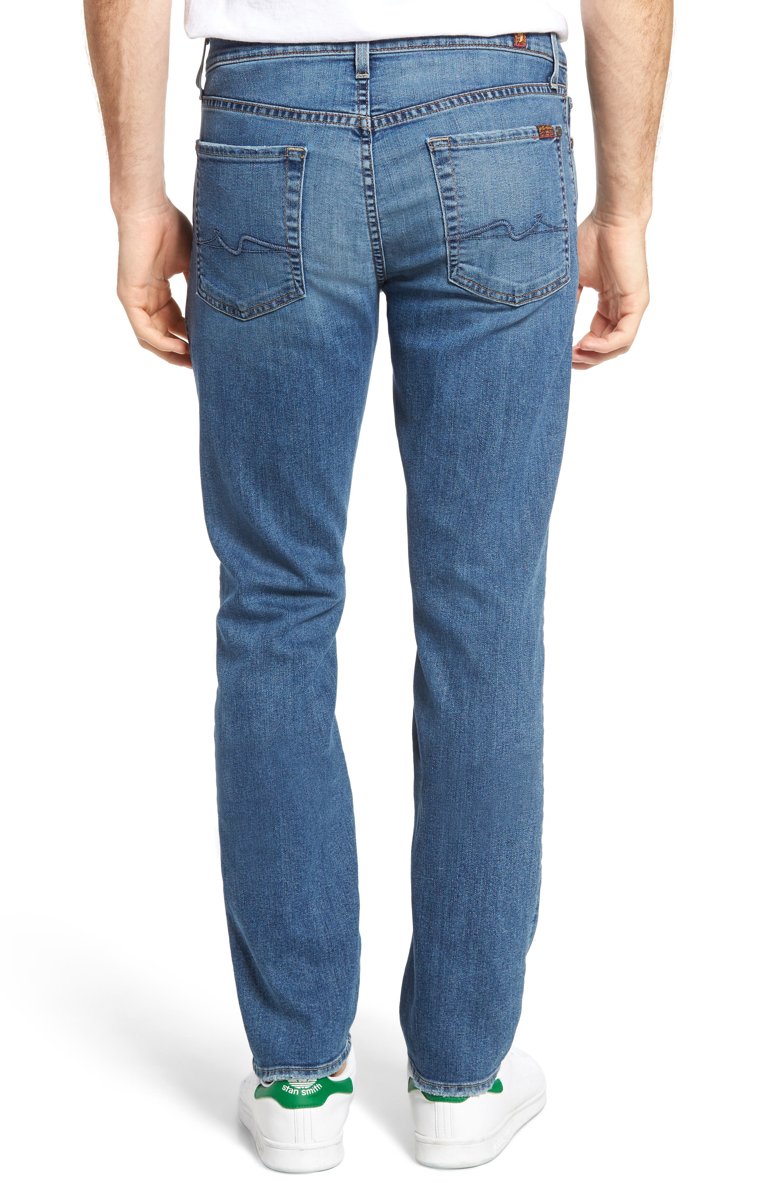 Alternate Image 2  - 7 For All Mankind® Slimmy Slim Fit Jeans (Almafi Coast)