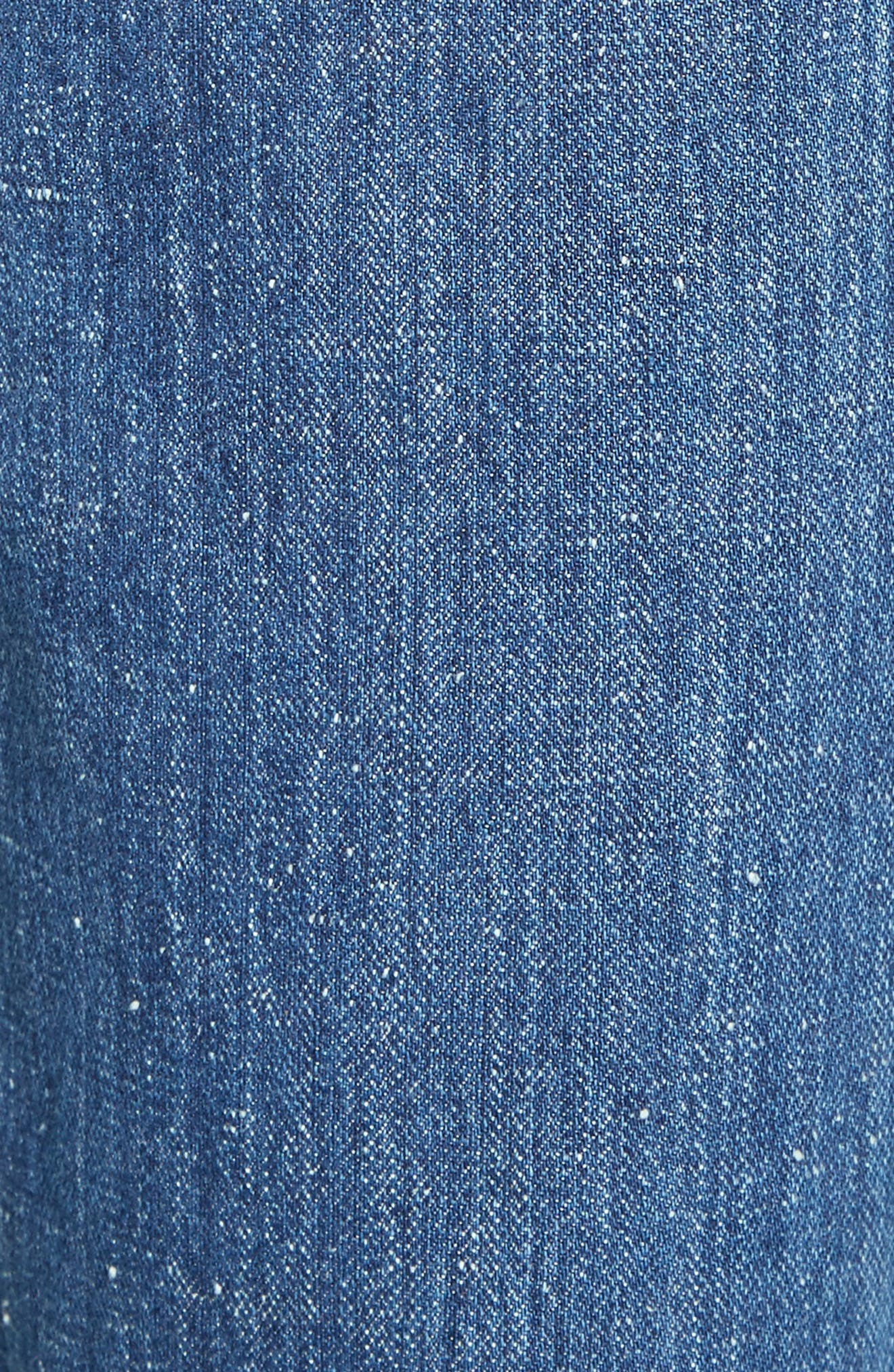 Alternate Image 6  - See by Chloé Wide Leg Denim Trousers