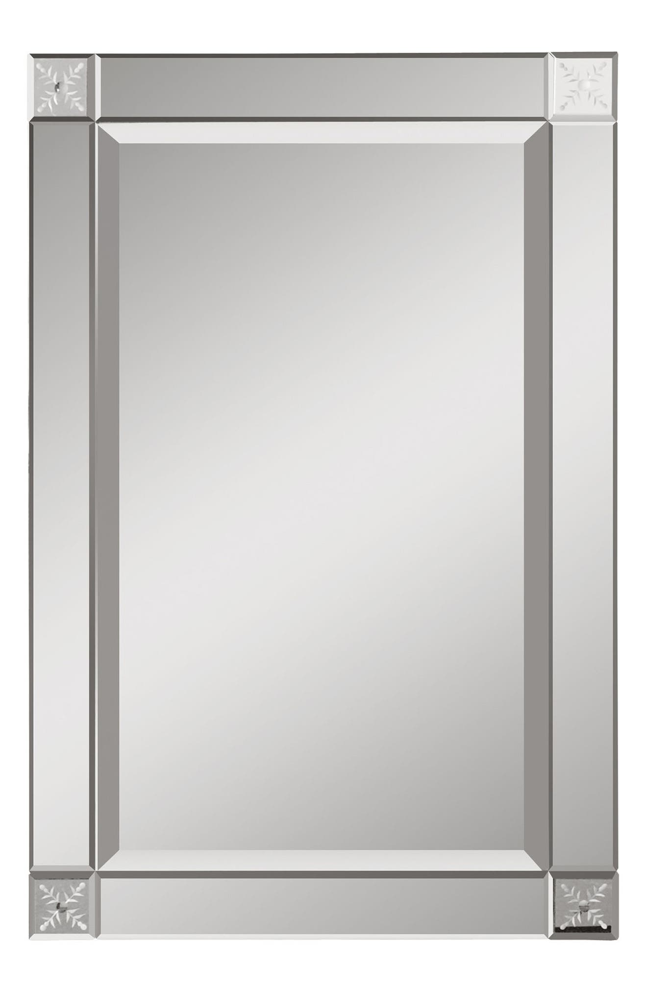 Main Image - Uttermost Emberlynn Frameless Wall Mirror