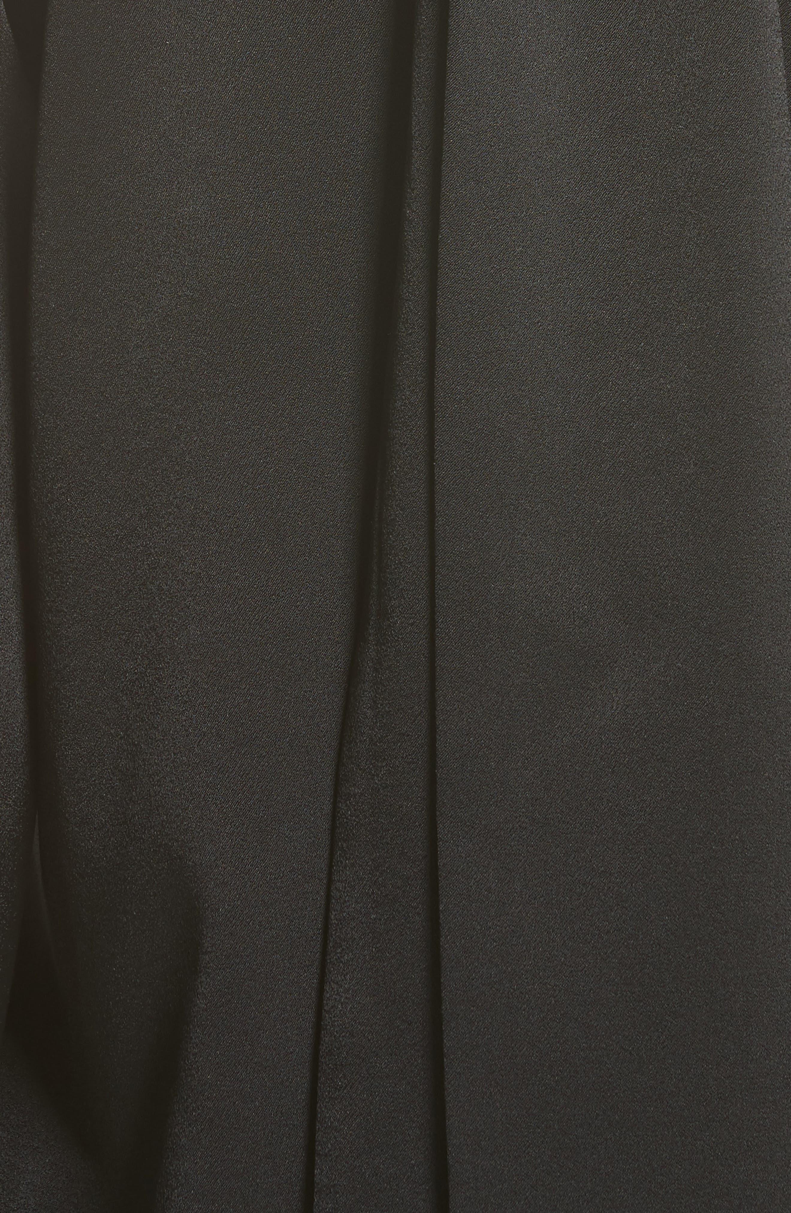 Alternate Image 3  - Galvan Satin Back Crepe Cold Shoulder Top