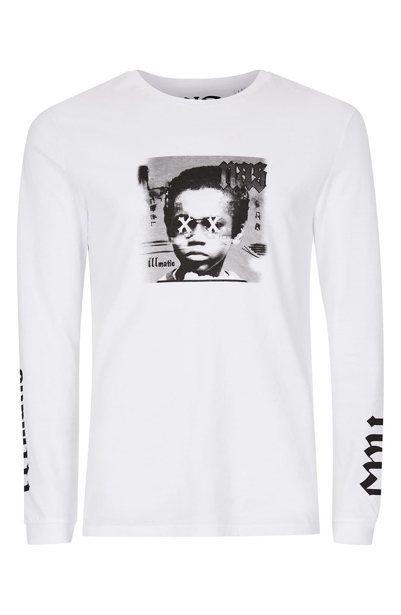 Alternate Image 5  - Topman Nas Illmatic Long Sleeve Graphic T-Shirt