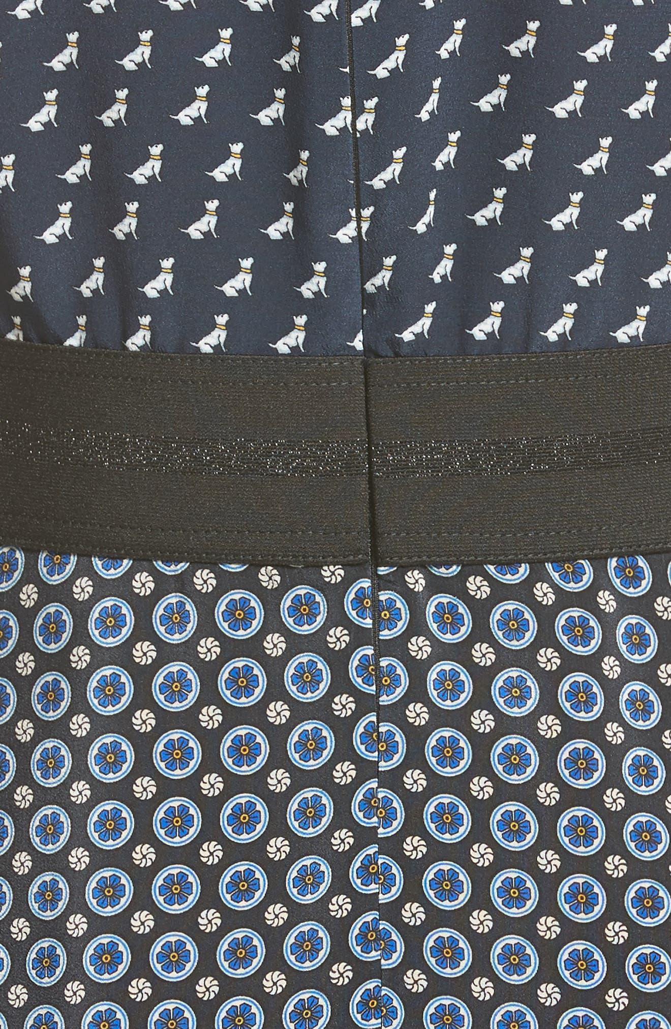 Alternate Image 3  - Stella McCartney Windsor Print Silk Dress