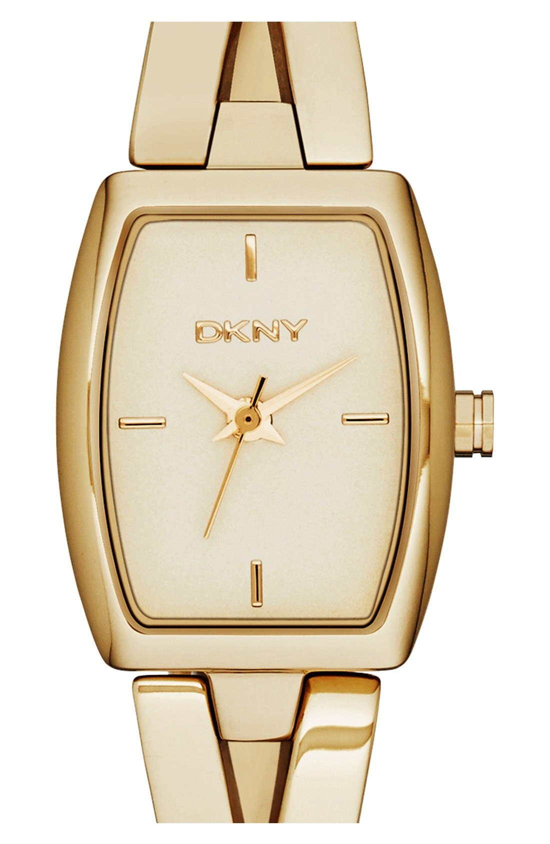 Alternate Image 1 Selected - DKNY 'Crosswalk' Bangle Watch, 18mm x 22mm
