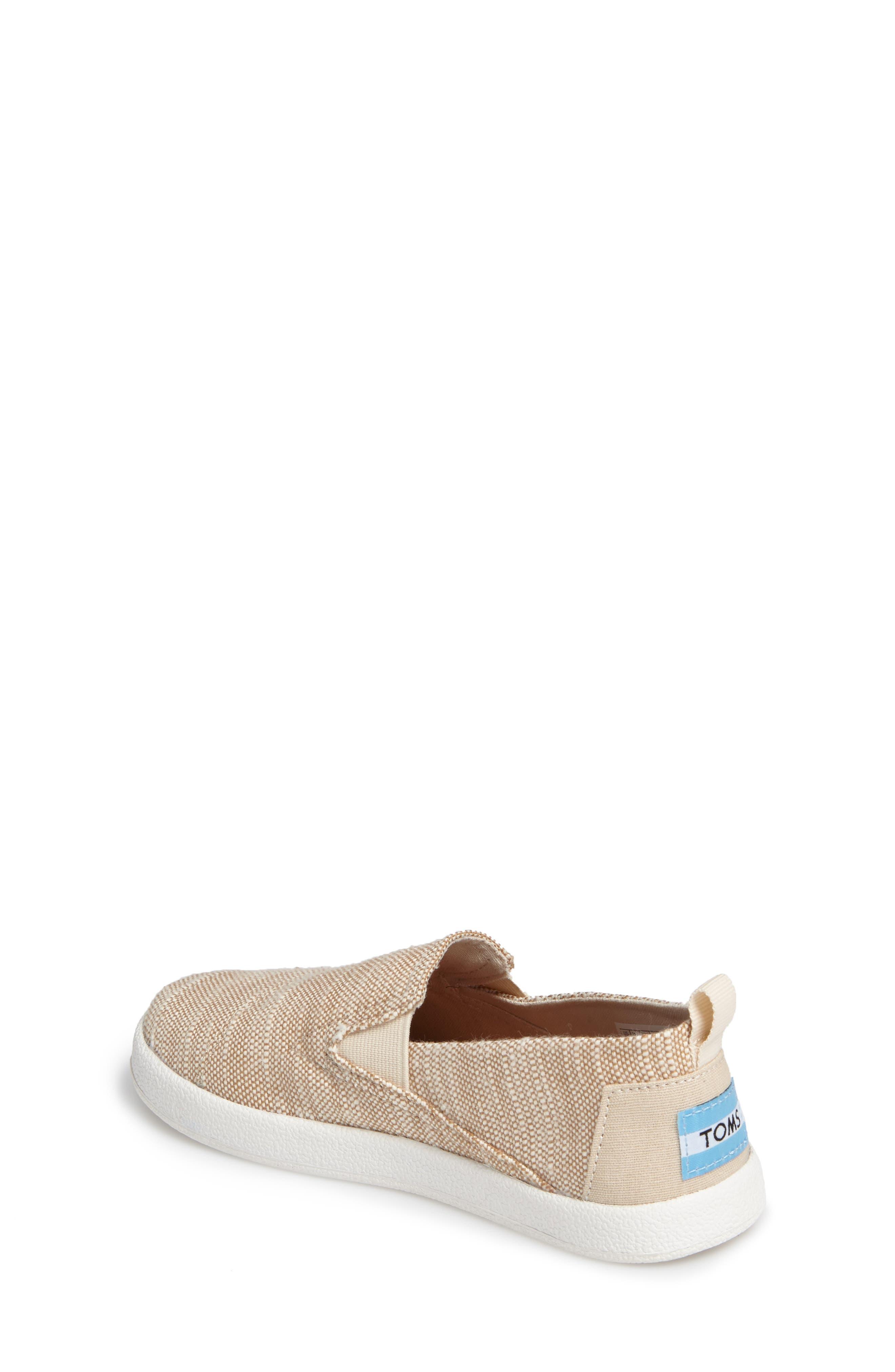 Alternate Image 2  - TOMS Avalon Slip-On Sneaker (Baby, Walker, Toddler, Little Kid & Big Kid)