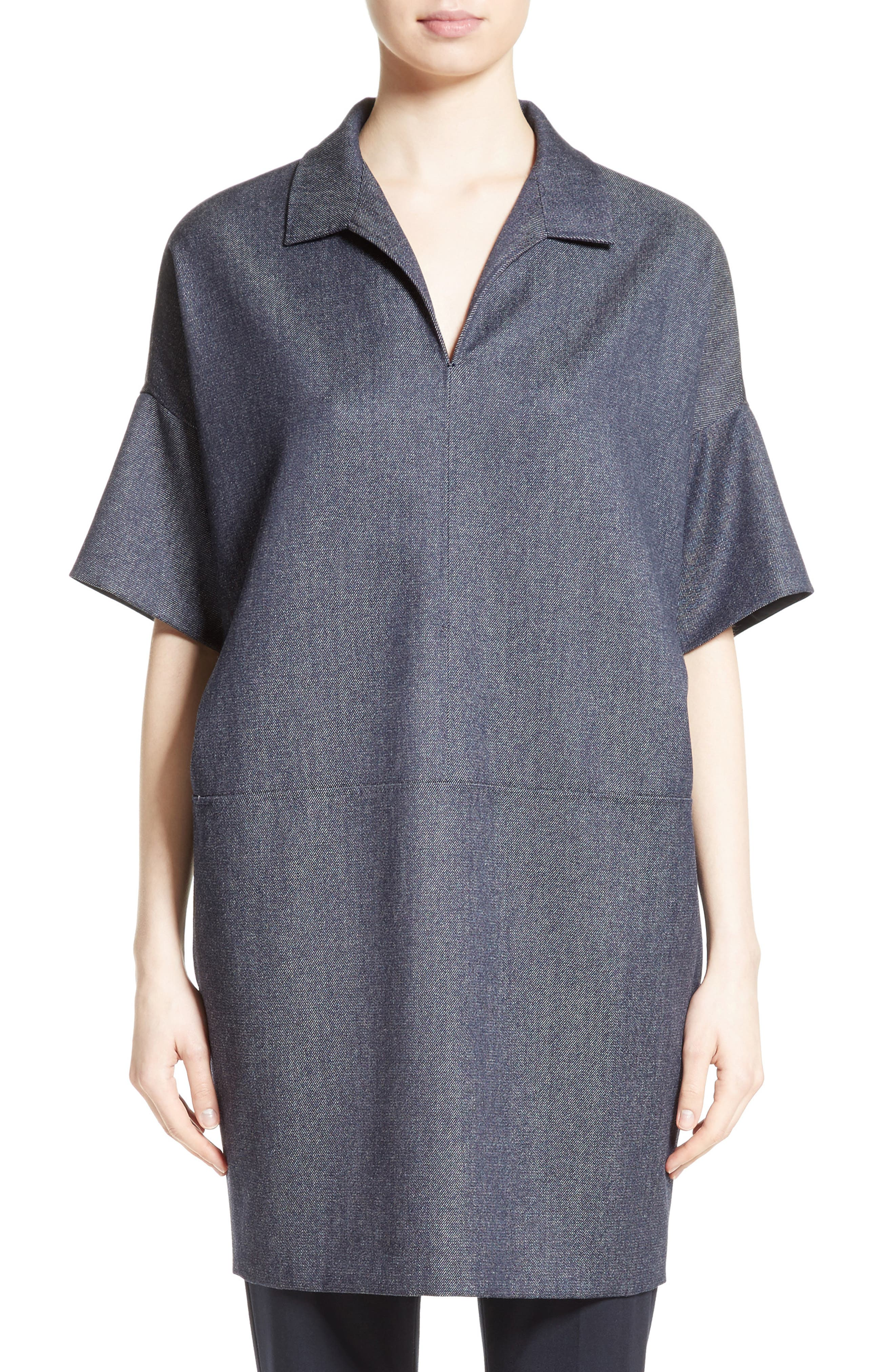 Max Mara Raid Virgin Wool Tunic
