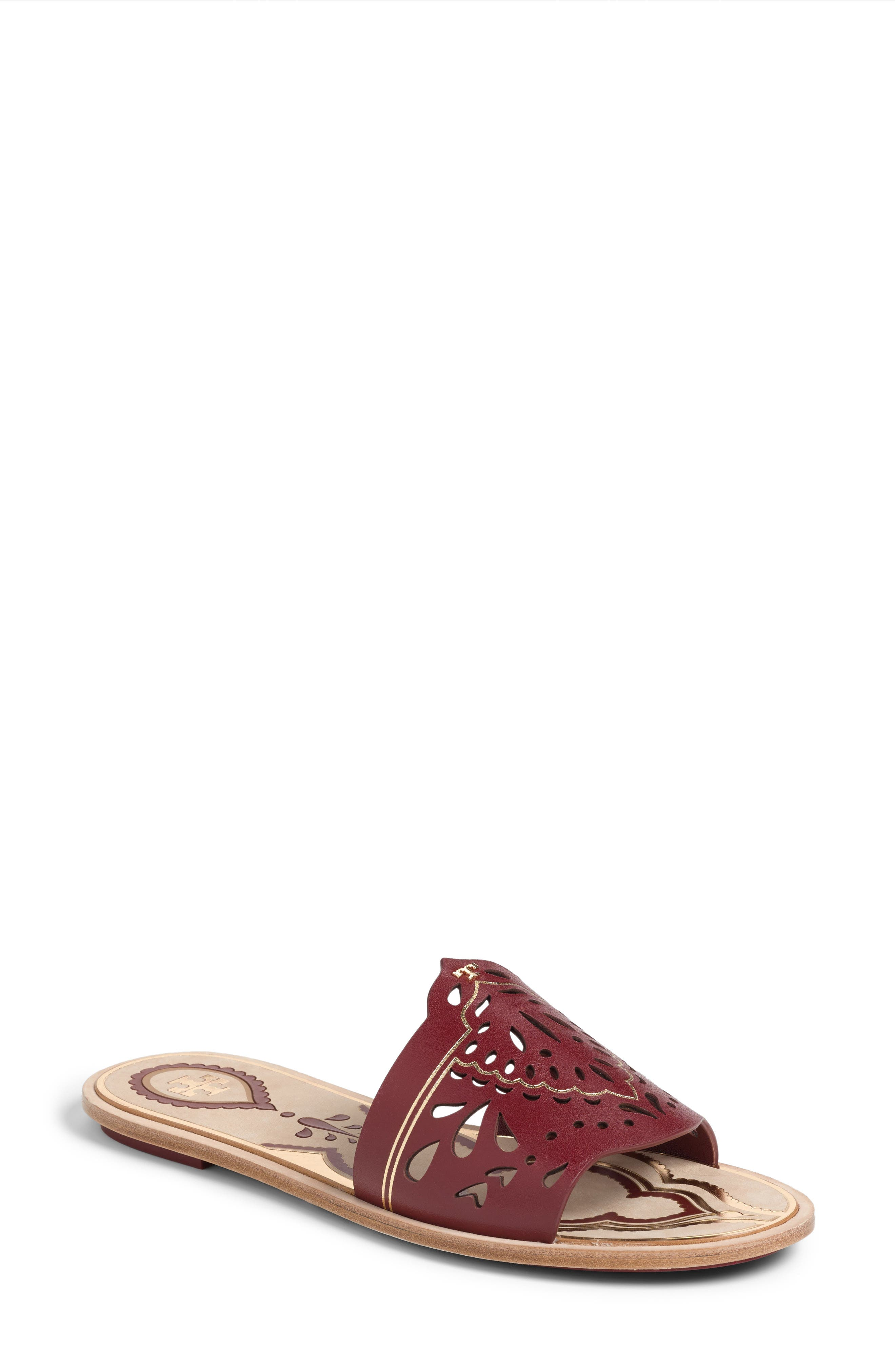 Tory Burch Annika Slide Sandal (Women)
