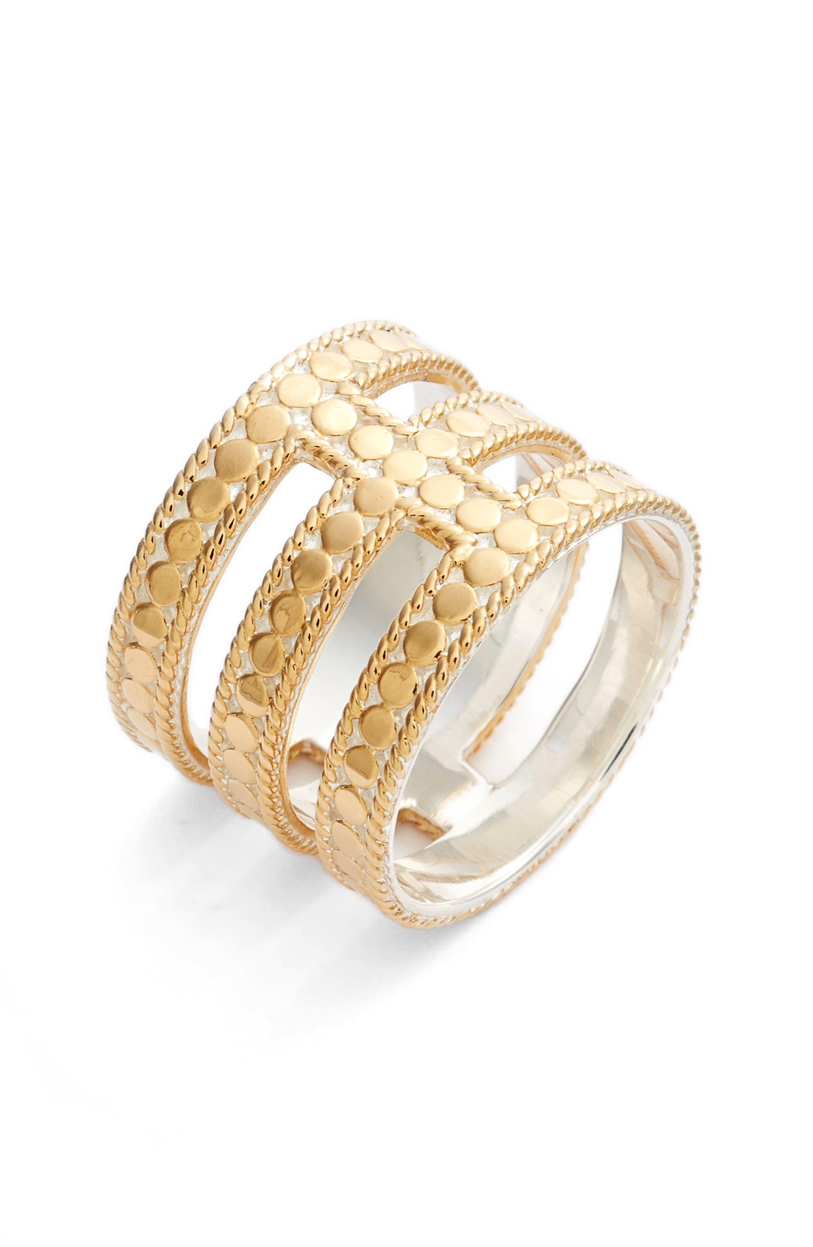 Anna Beck Gili Cutout Ring
