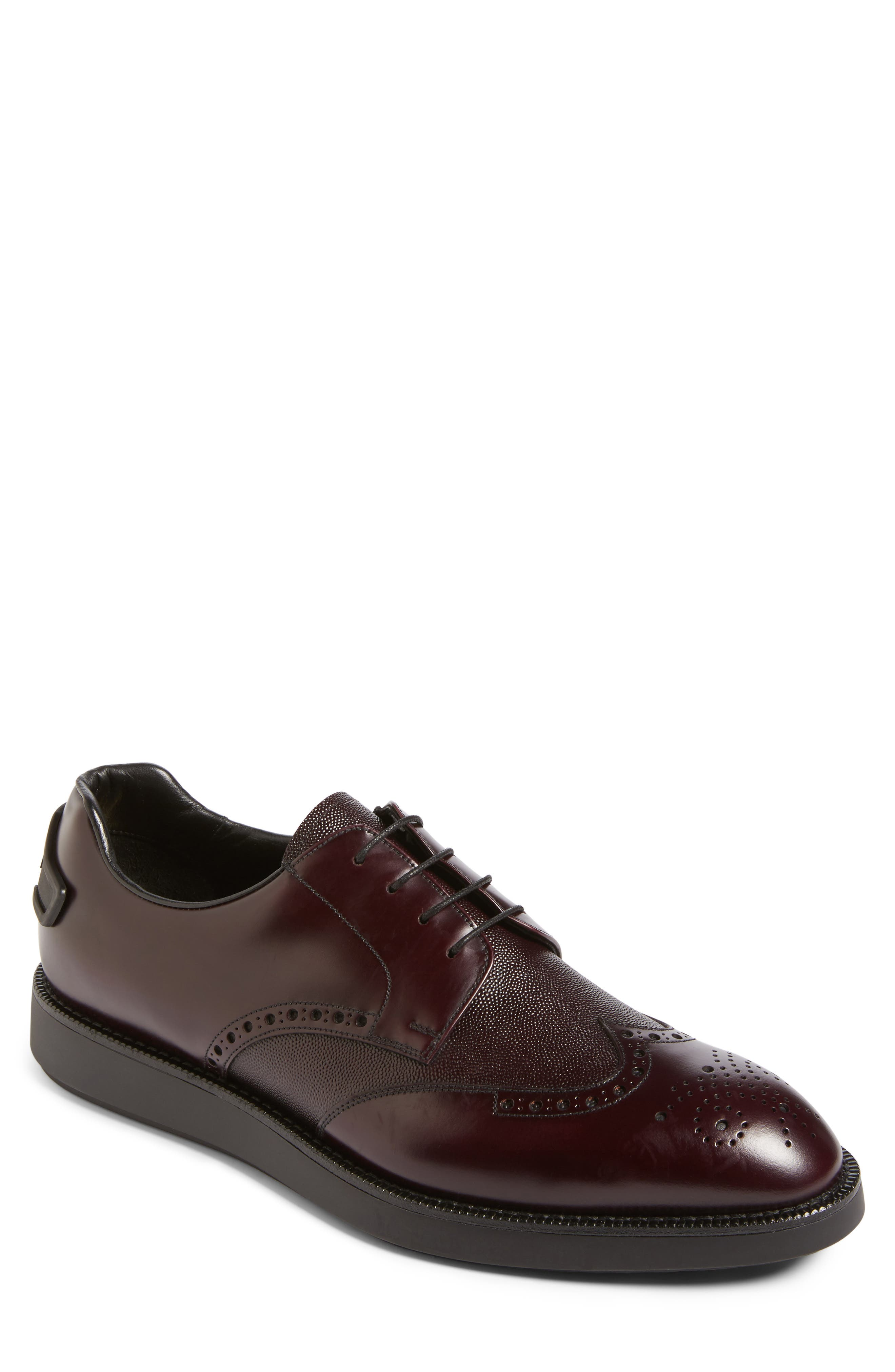 Alternate Image 1 Selected - Prada Wingtip (Men)