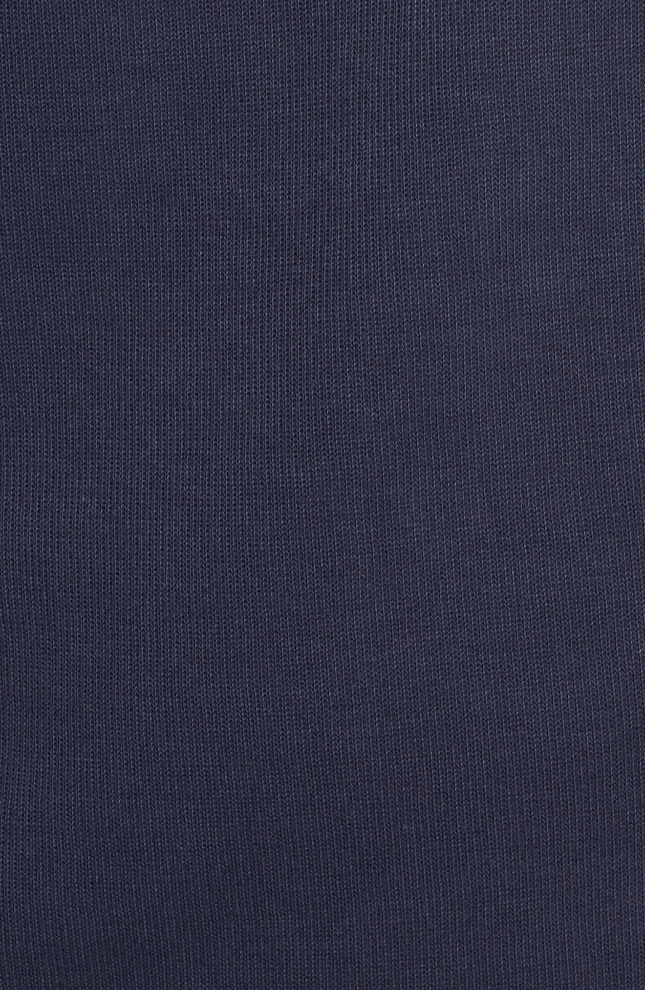 Bayview Quarter Zip Pullover,                             Alternate thumbnail 5, color,                             Liberty Navy