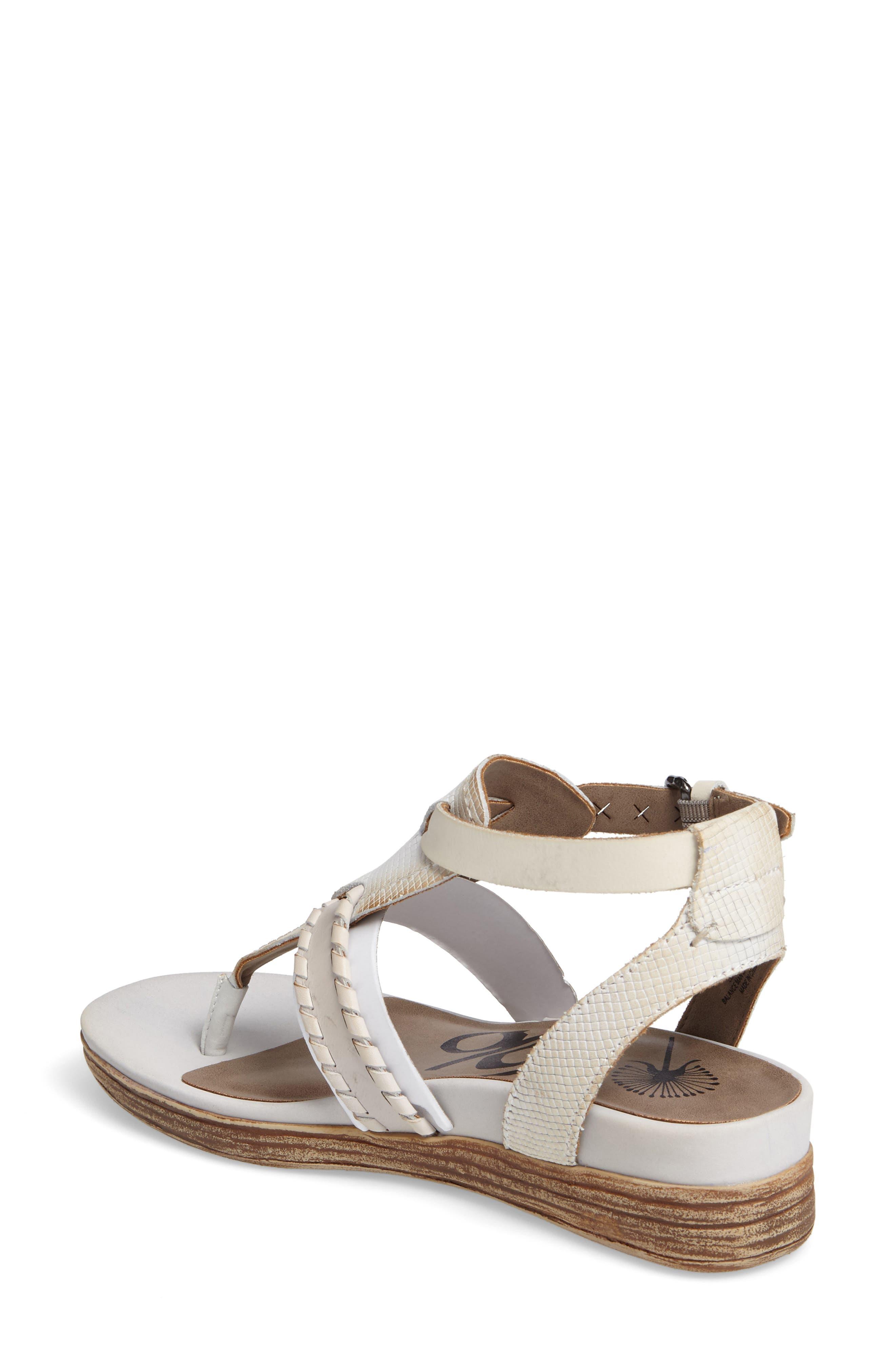 Alternate Image 2  - OTBT Celestial V-Strap Wedge Sandal (Women)