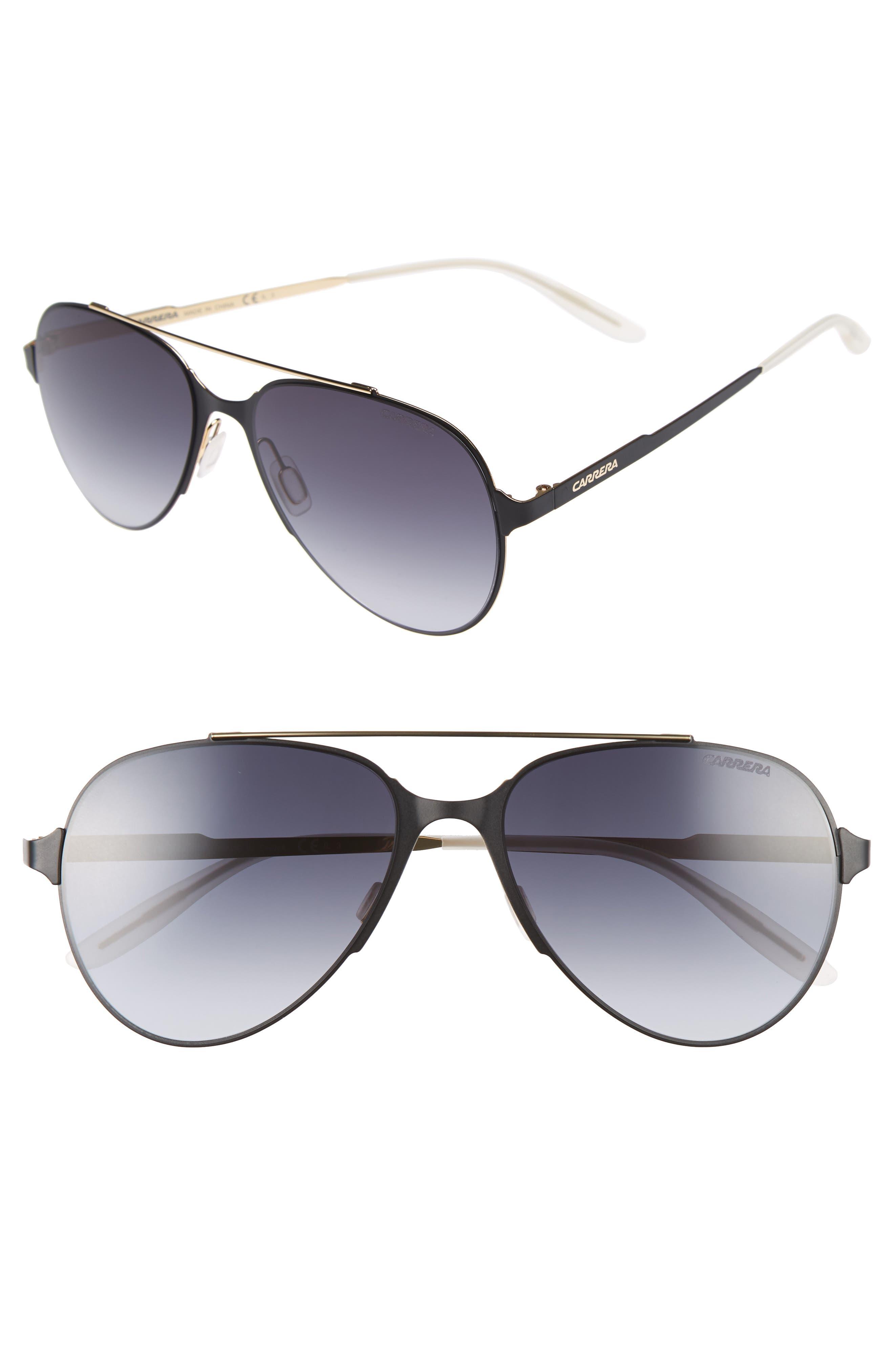 Alternate Image 1 Selected - Carrera Eyewear 55mm Aviator Sunglasses