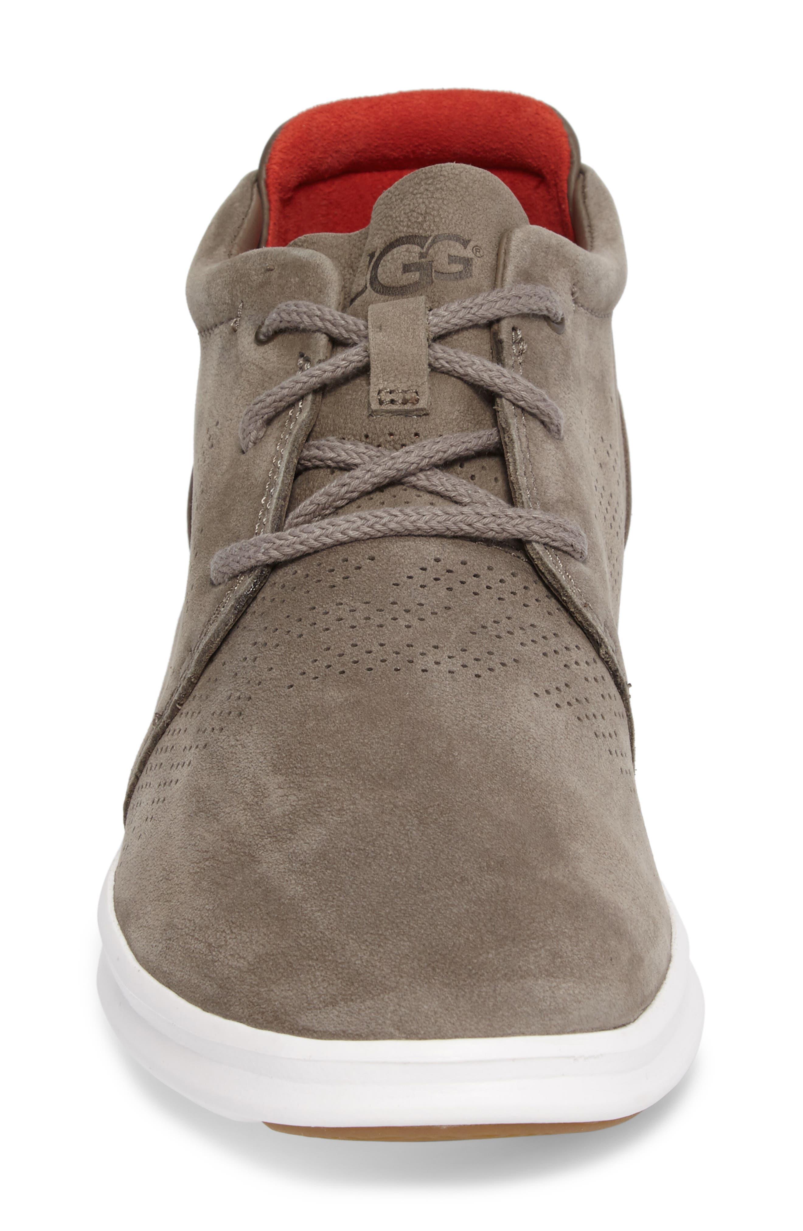 Larken Chukka Sneaker,                             Alternate thumbnail 4, color,                             Mole