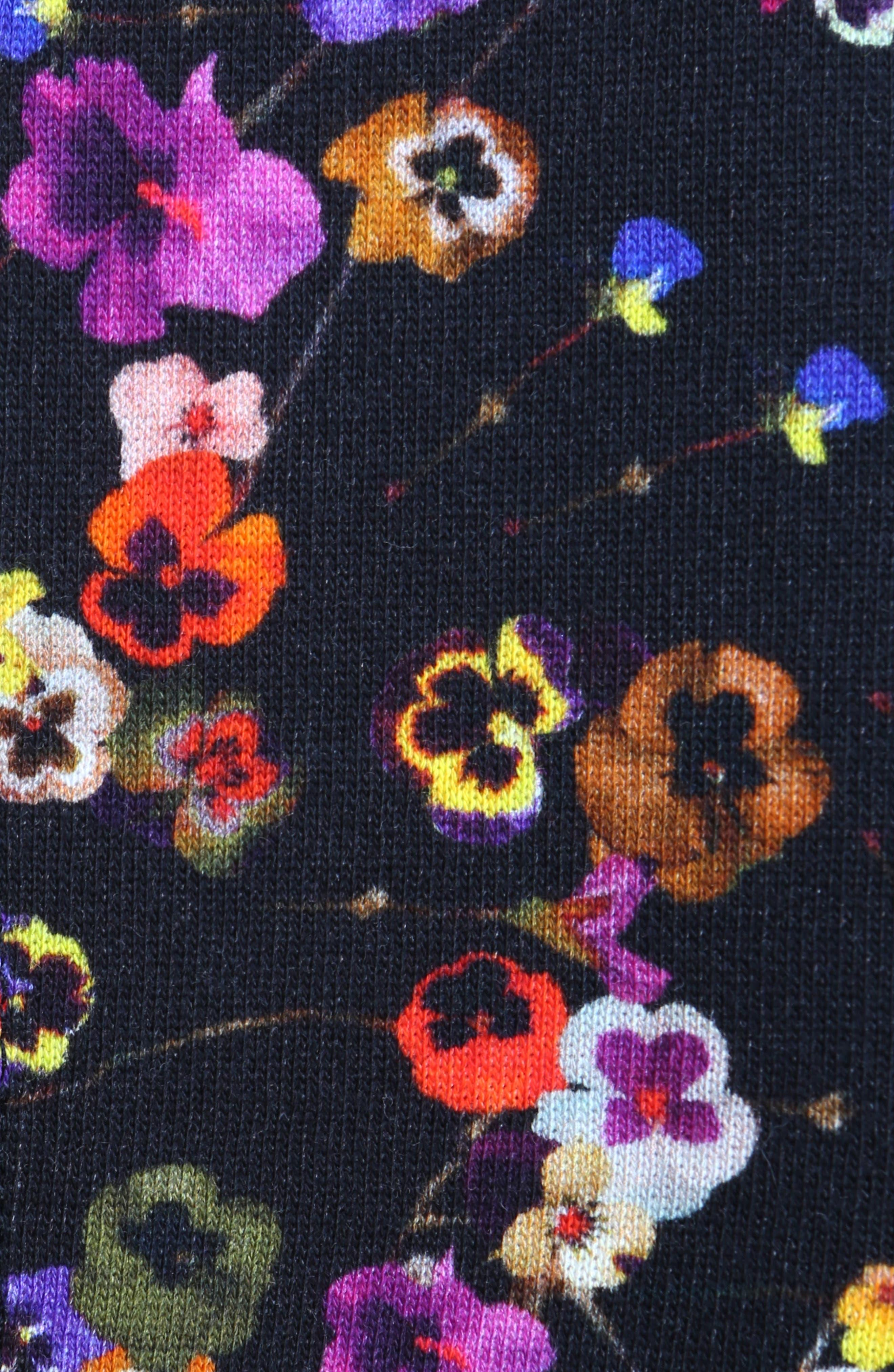 Alternate Image 5  - Givenchy Floral Print Ruffle Bonded Sweatshirt