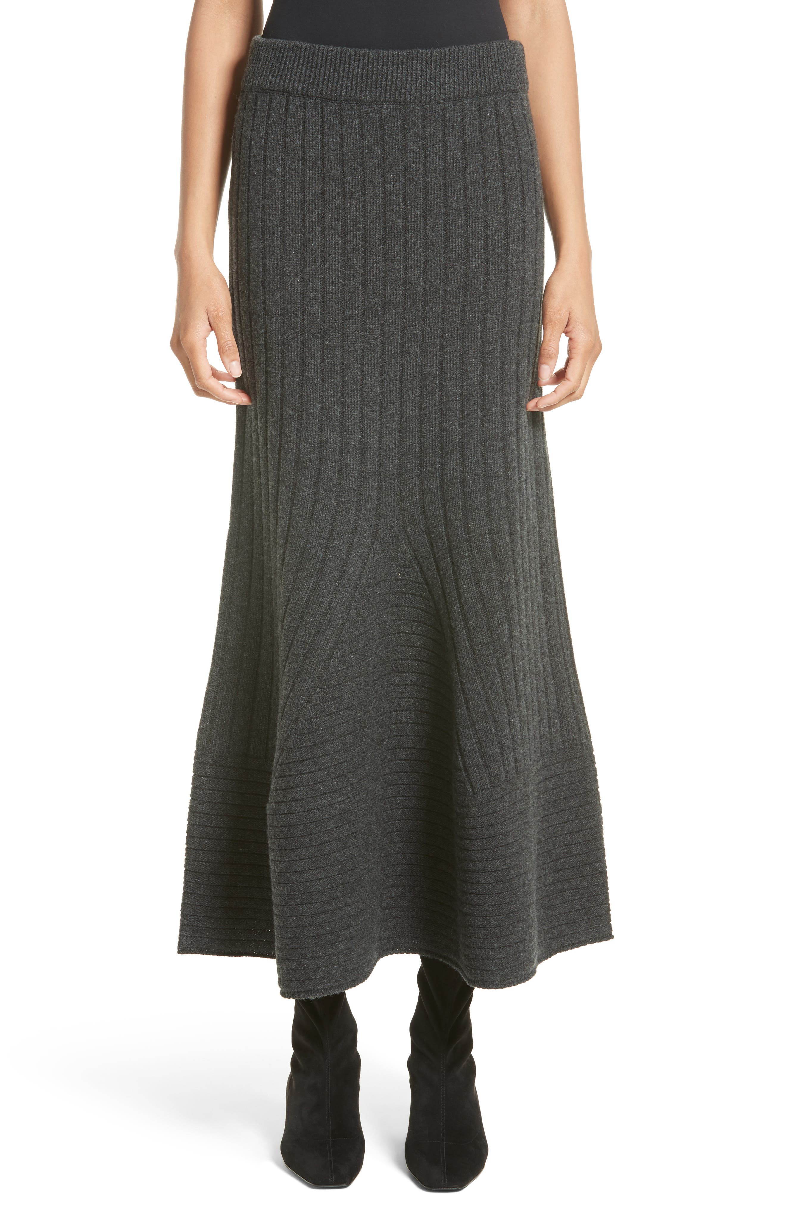 Stella McCartney Knit Wool Maxi Skirt