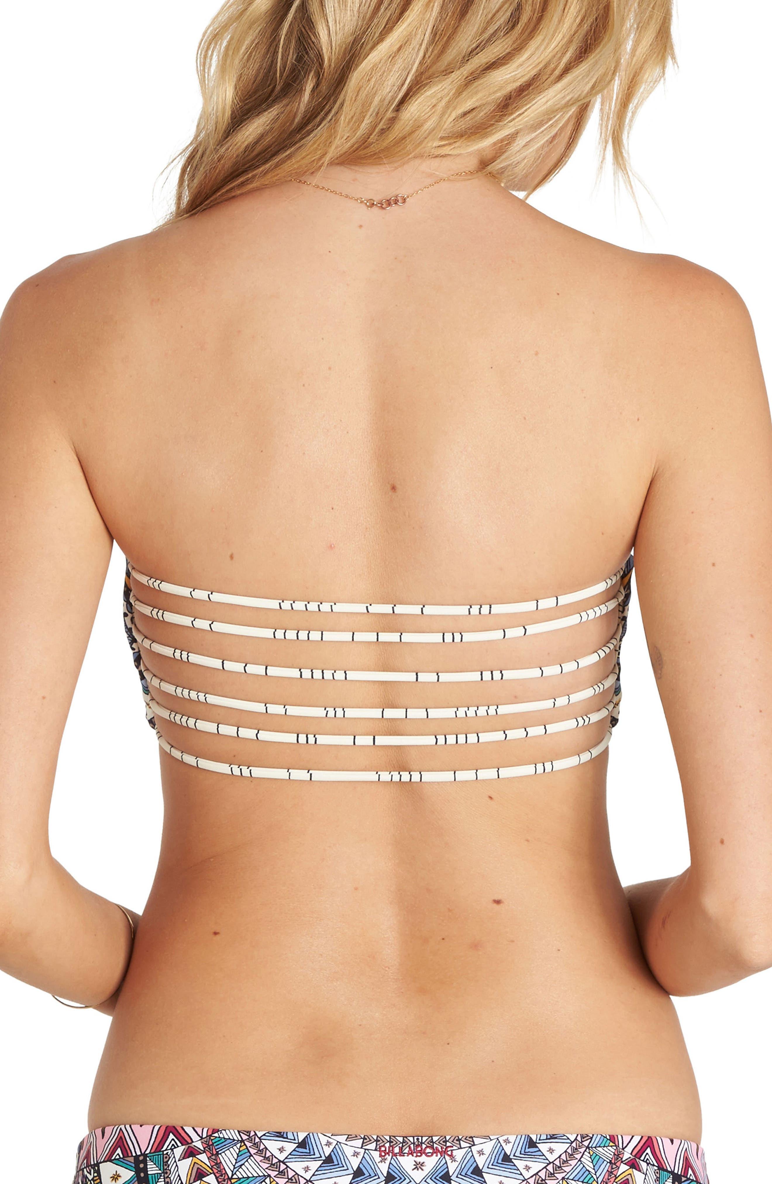 Alternate Image 2  - Billabong Dreamer Bandeau Bikini Top