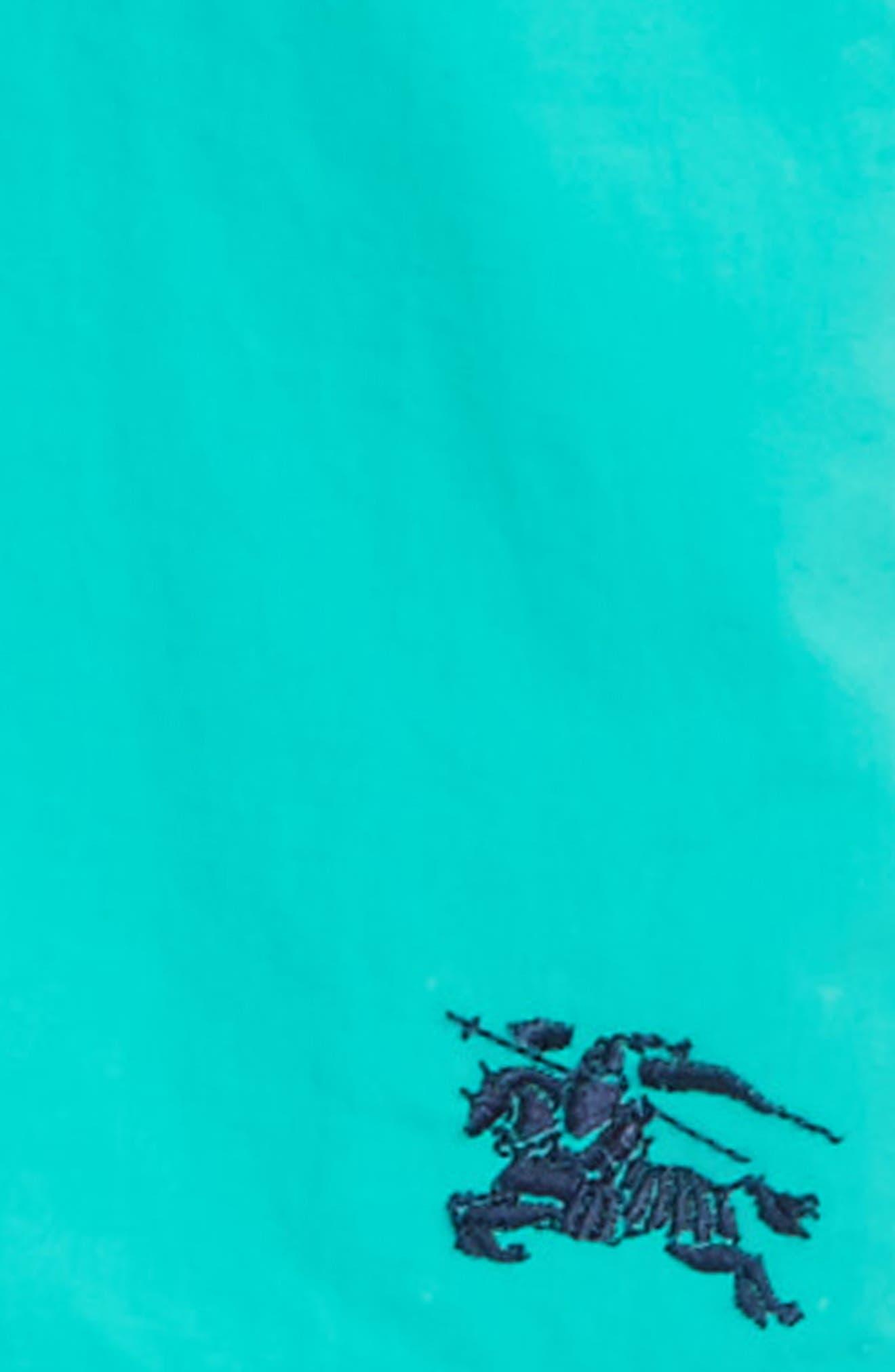 Alternate Image 2  - Burberry Mini Galvin Swim Trunks (Baby Boys & Toddler Boys)