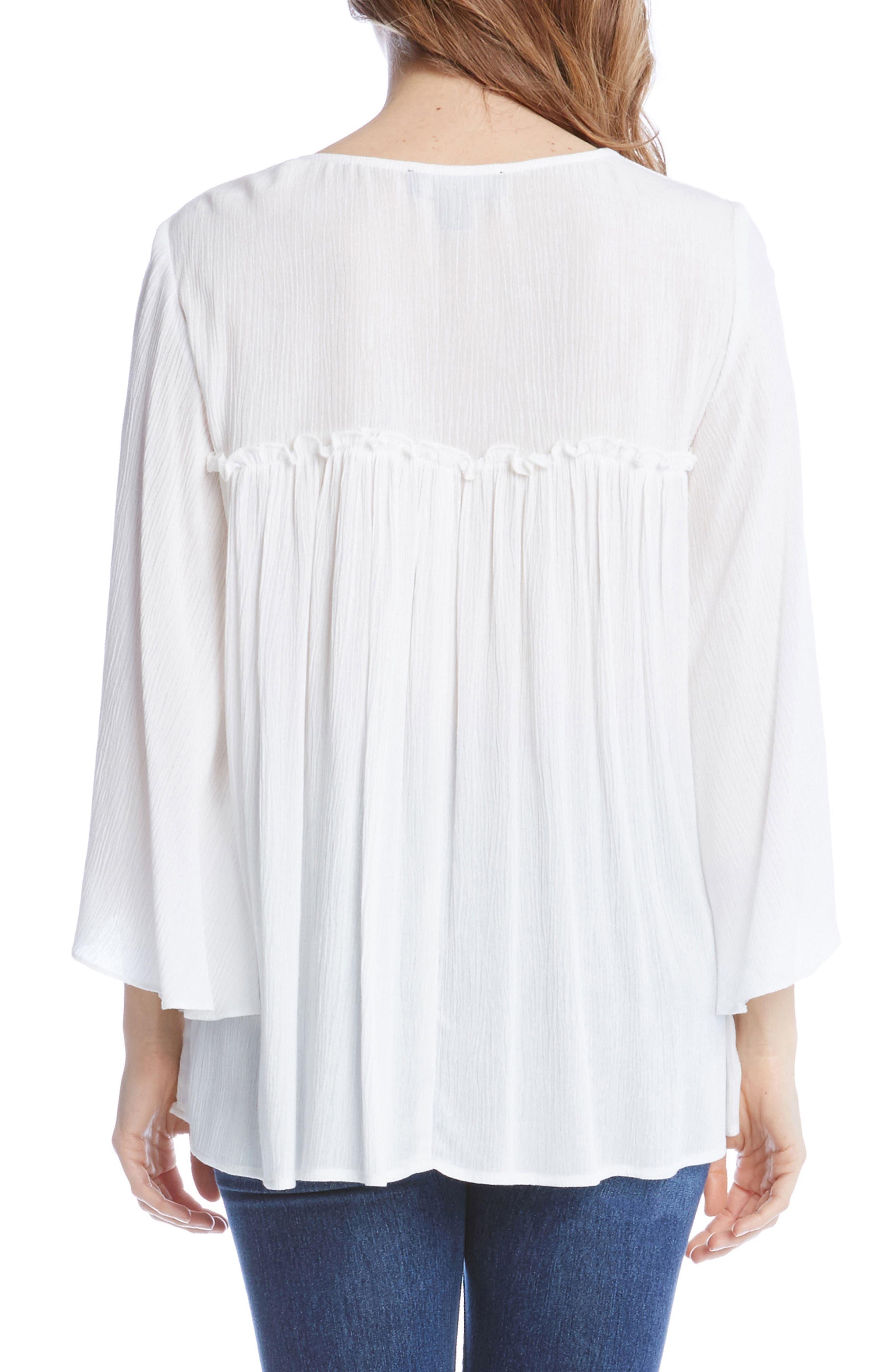 Alternate Image 3  - Karen Kane Bell Sleeve Top